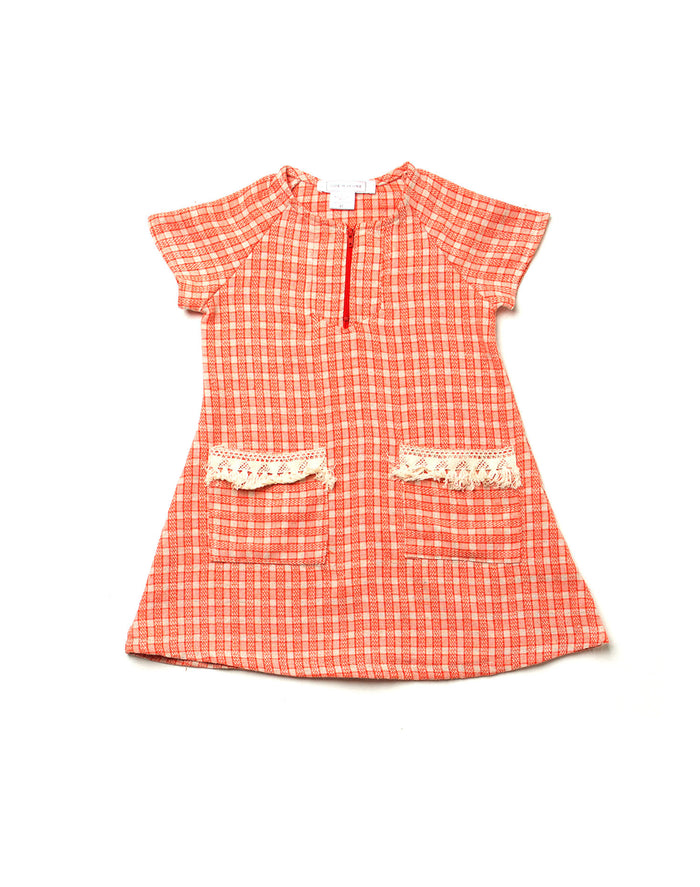 Lucia Dress - Creamsicle