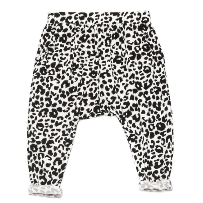 Ode to Jeune Bro Pant Boys Pant Girls Pant Snow Leopard Animal Print