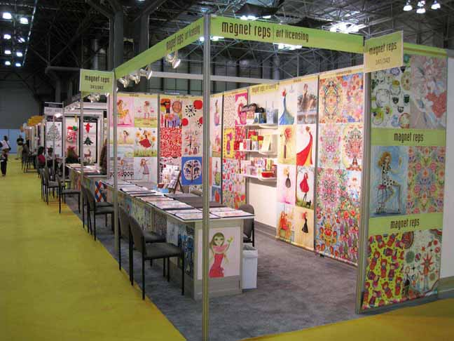 An example of a Surtex Booth