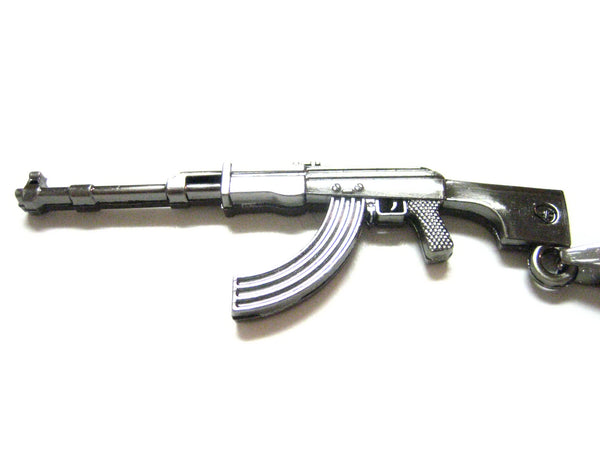 AK47 Rifle Pendant Necklace