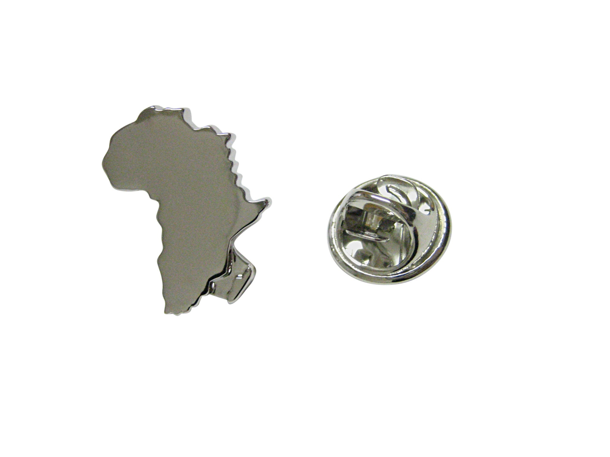 Shape Of Africa Map.Africa Map Shape Lapel Pin Kiola Designs