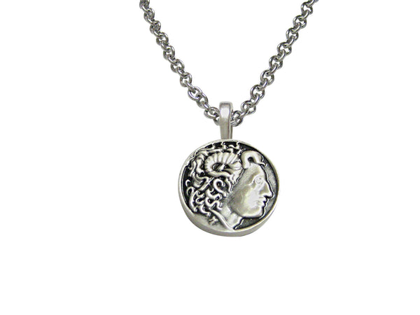 Alexander The Great Pendant Necklace