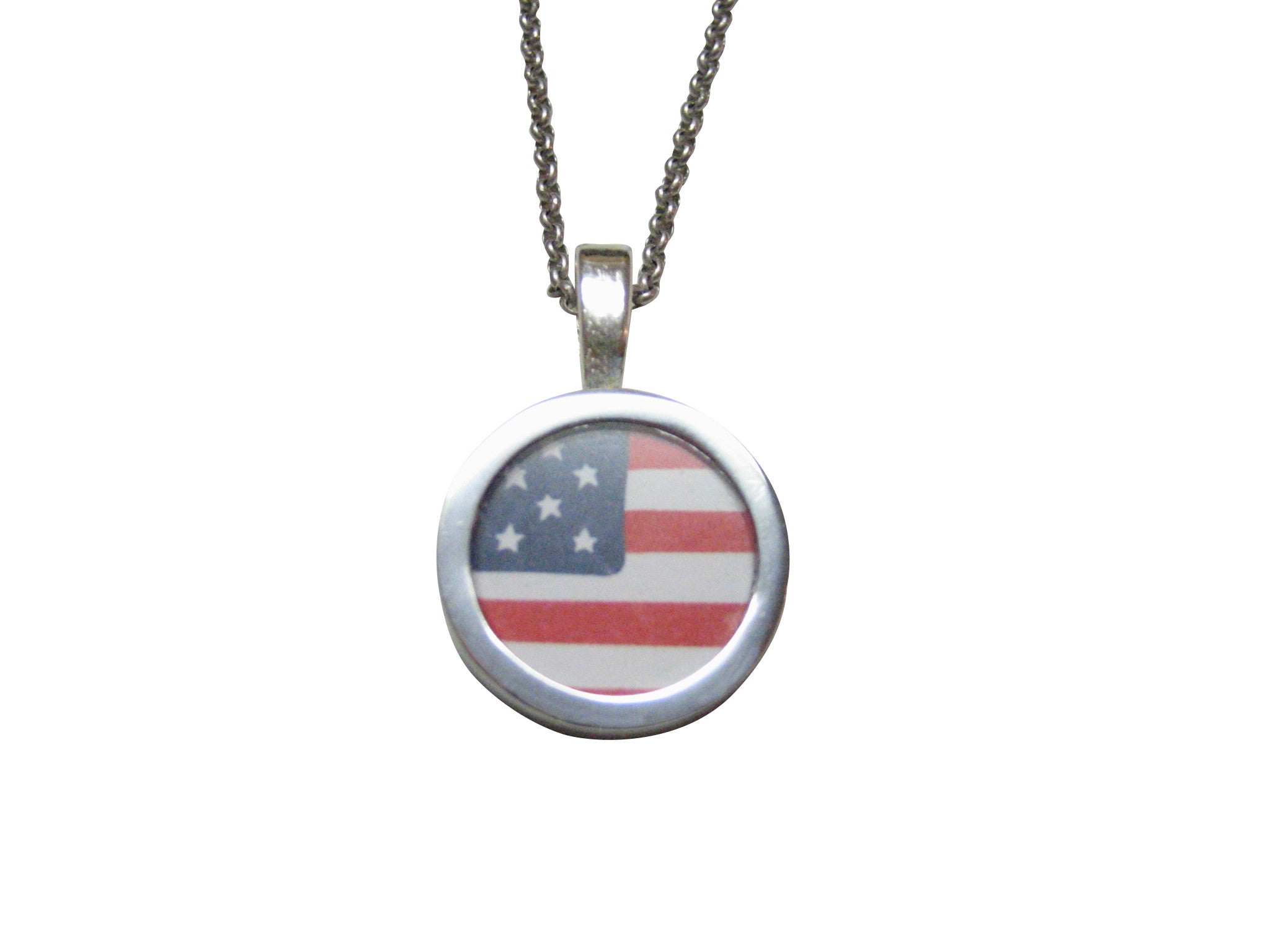 with pin gold collections american flip tone rosemarie flag usa flop is pendant necklace patriotic a