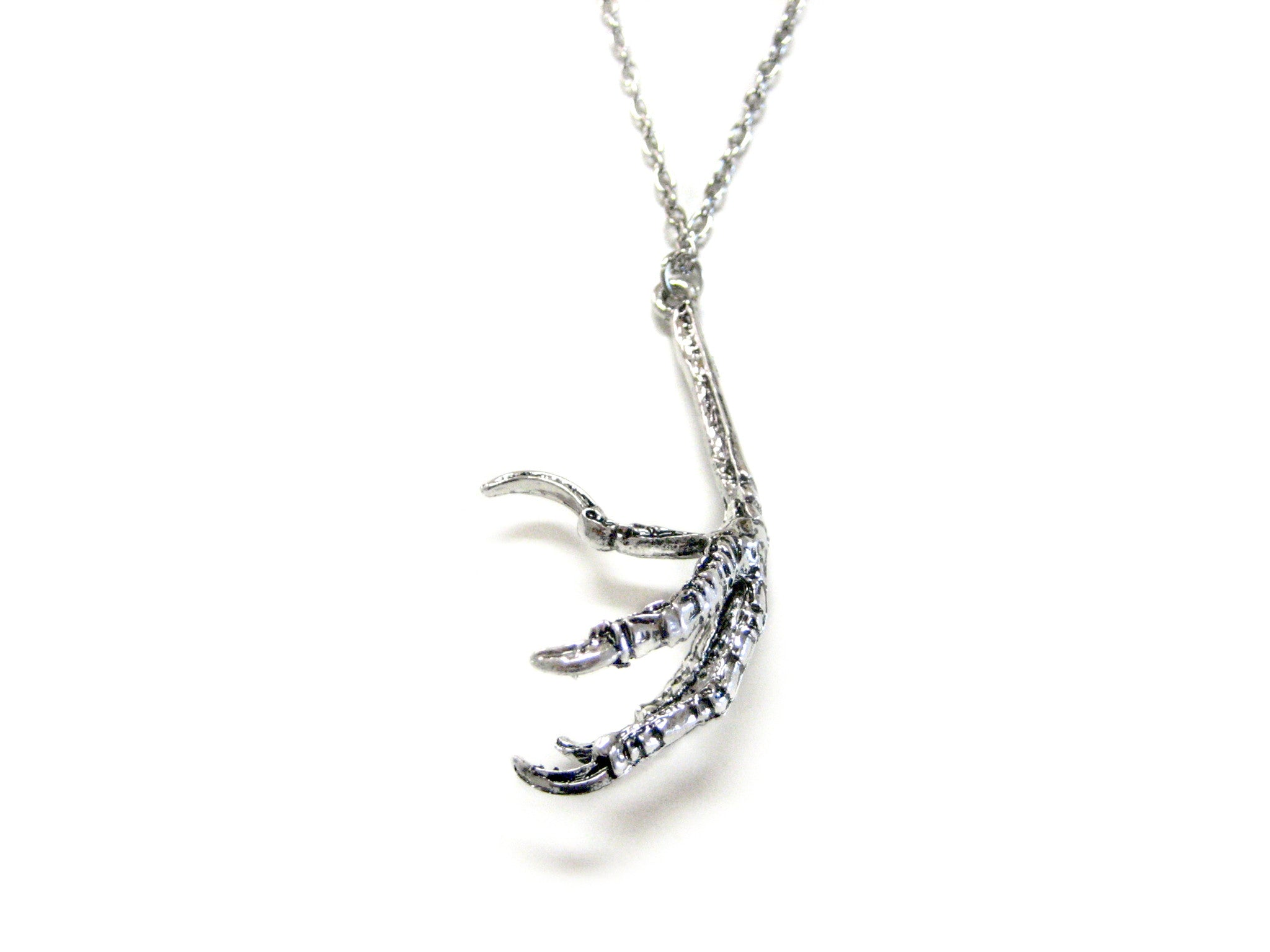 Bird Claw Talon Pendant Necklace