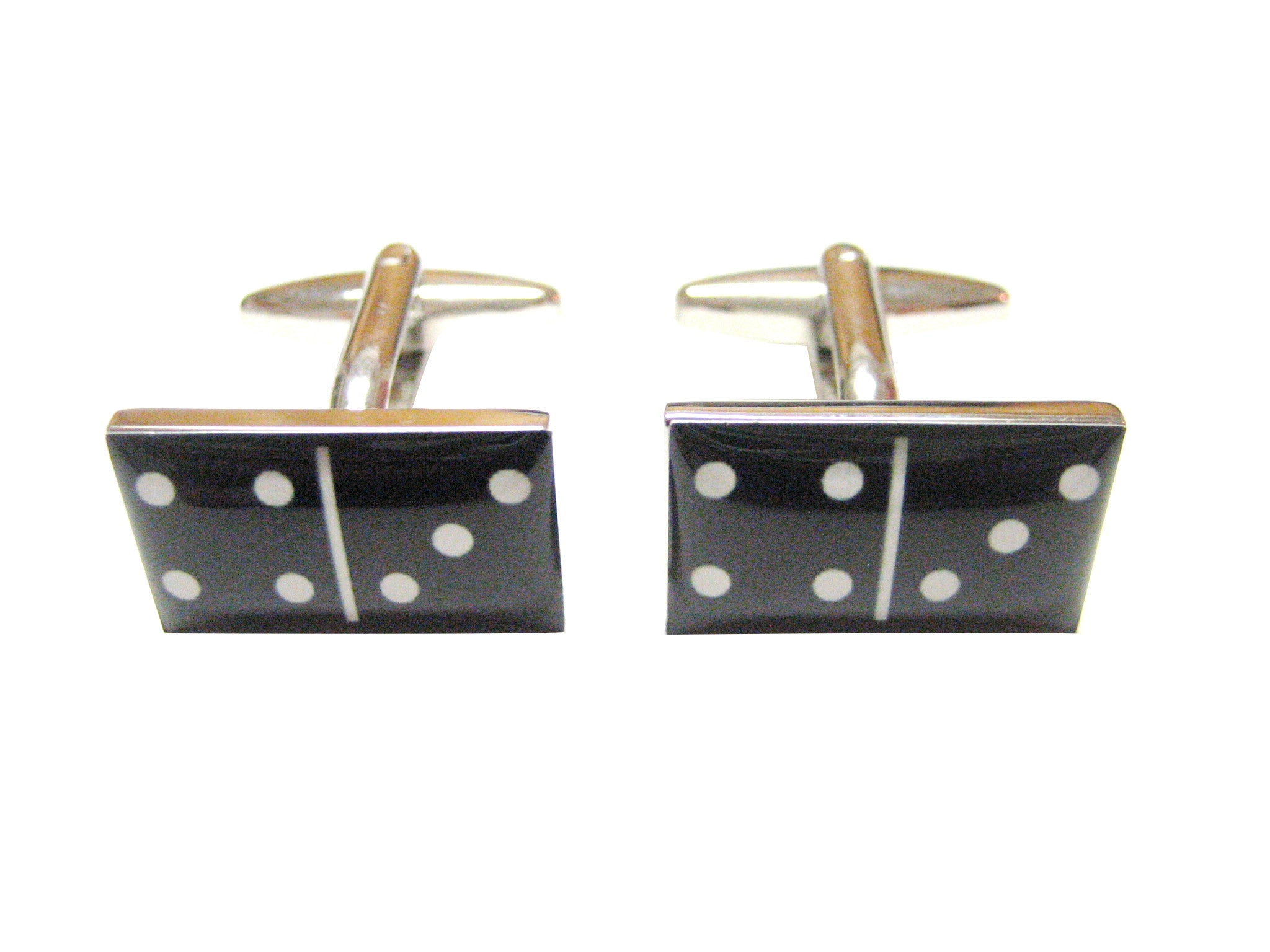 Black Domino Gaming Cufflinks