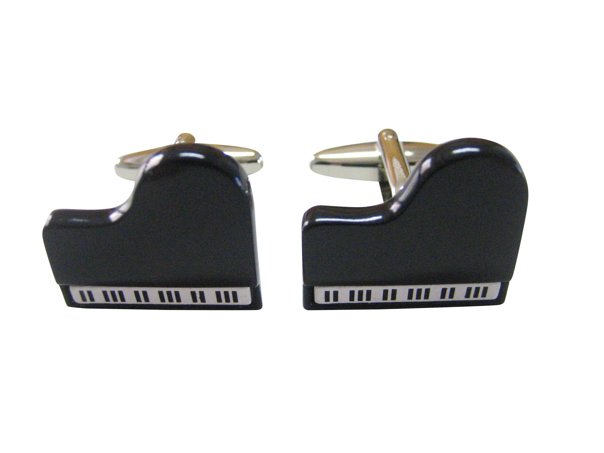 Black Musical Piano Cufflinks