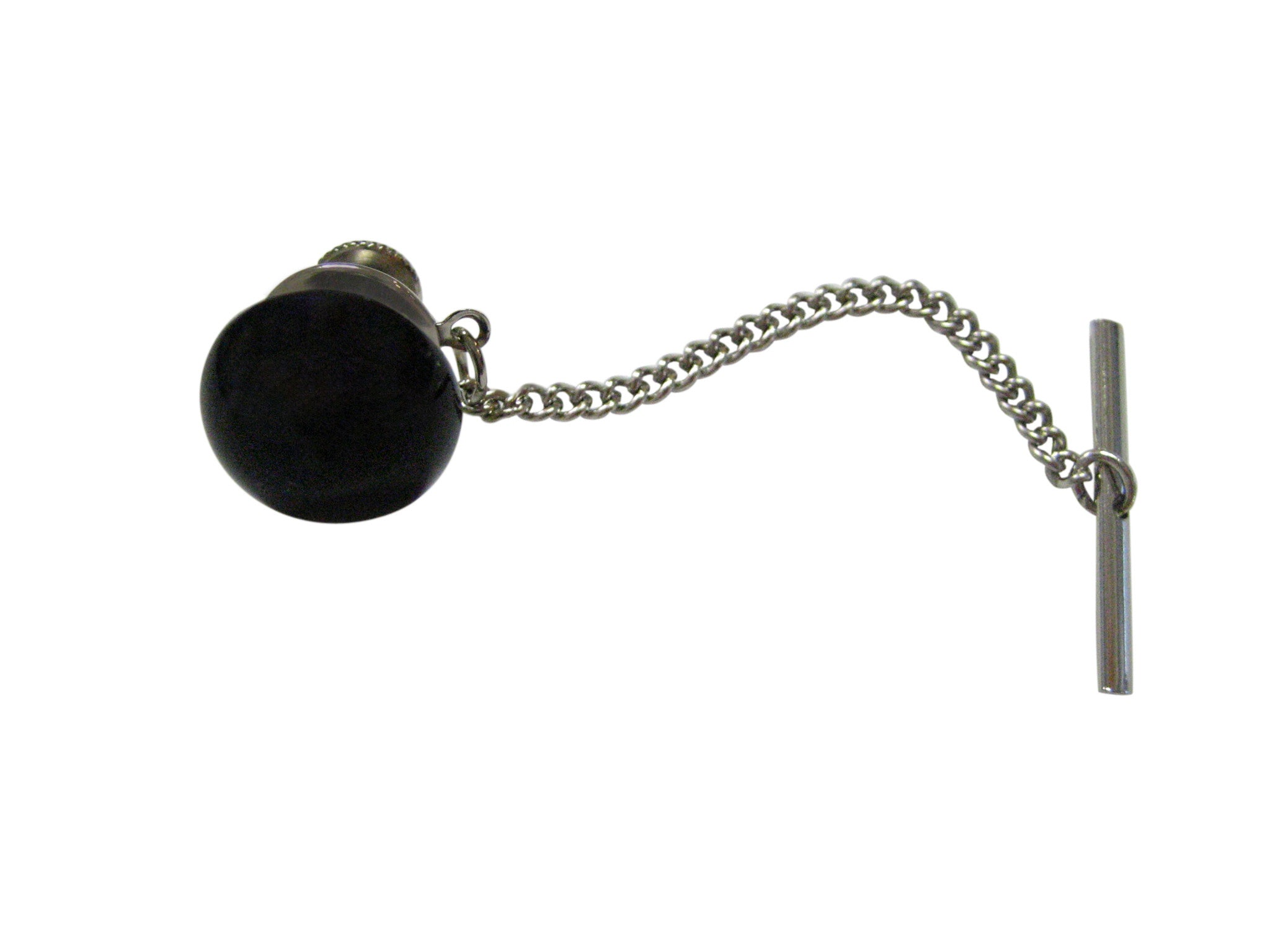 Black Onyx Gemstone Tie Tack