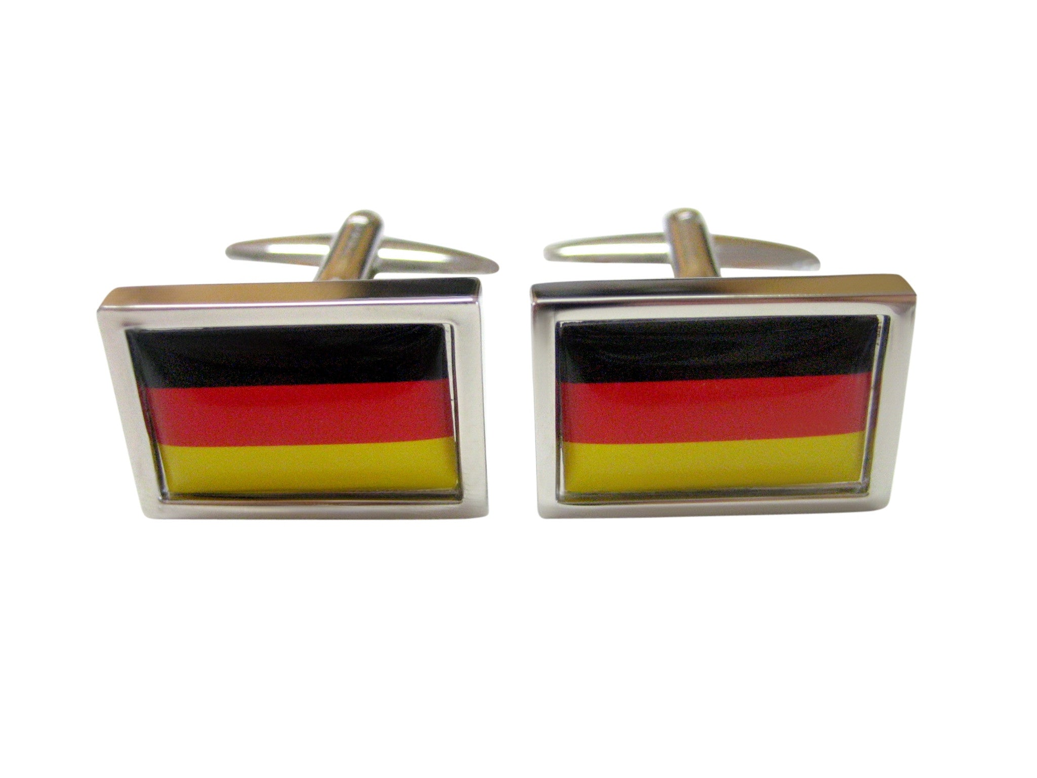 Bordered Germany Flag Cufflinks