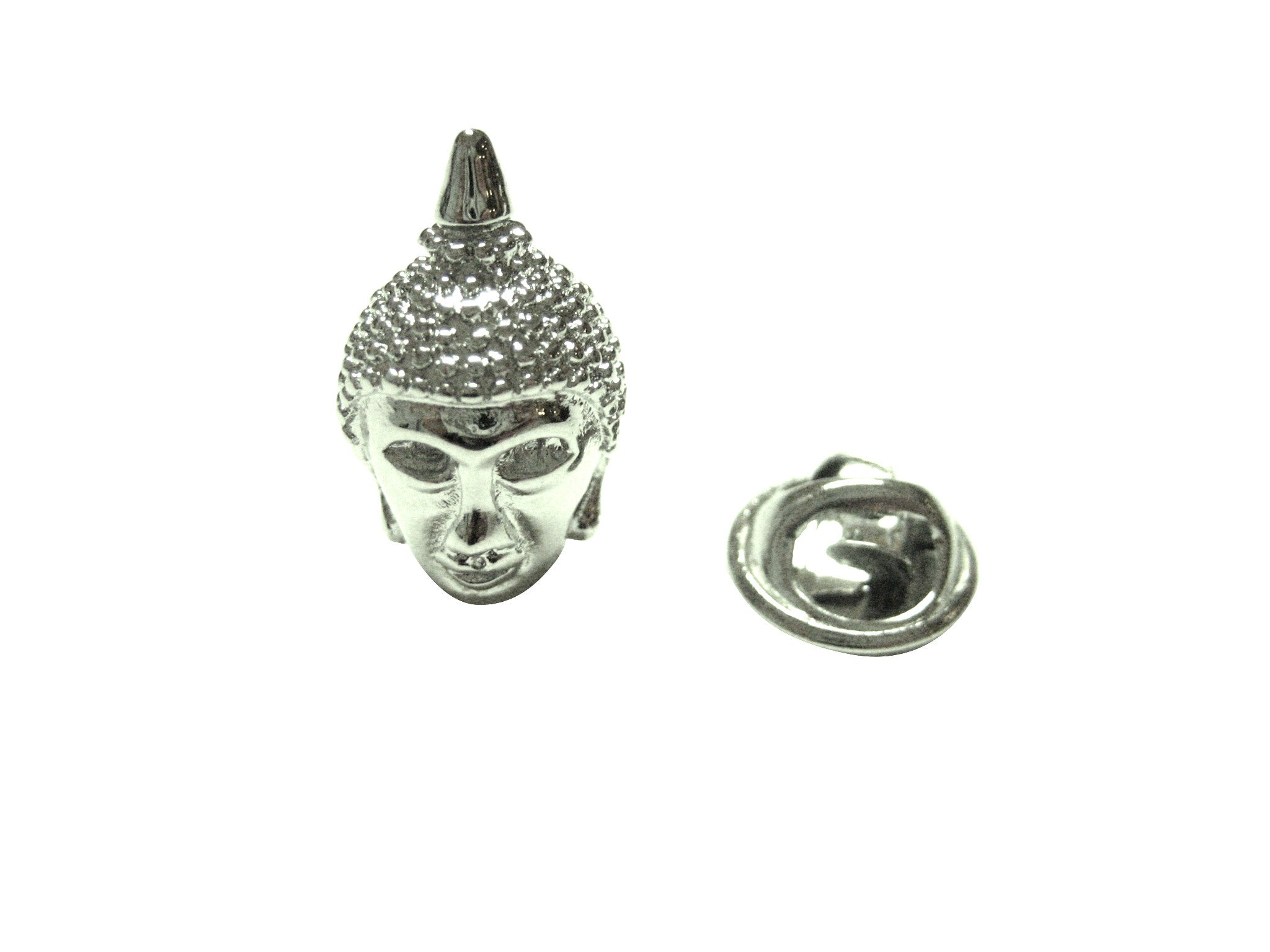 Buddha Head Lapel Pin