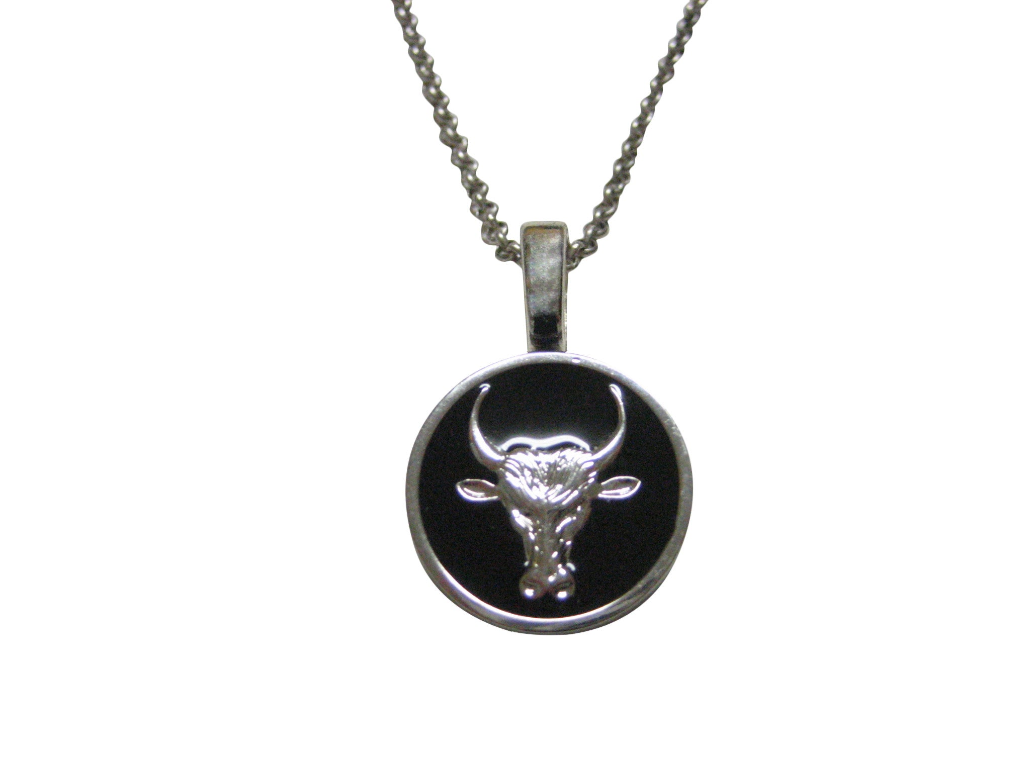 Bull Pendant Necklace