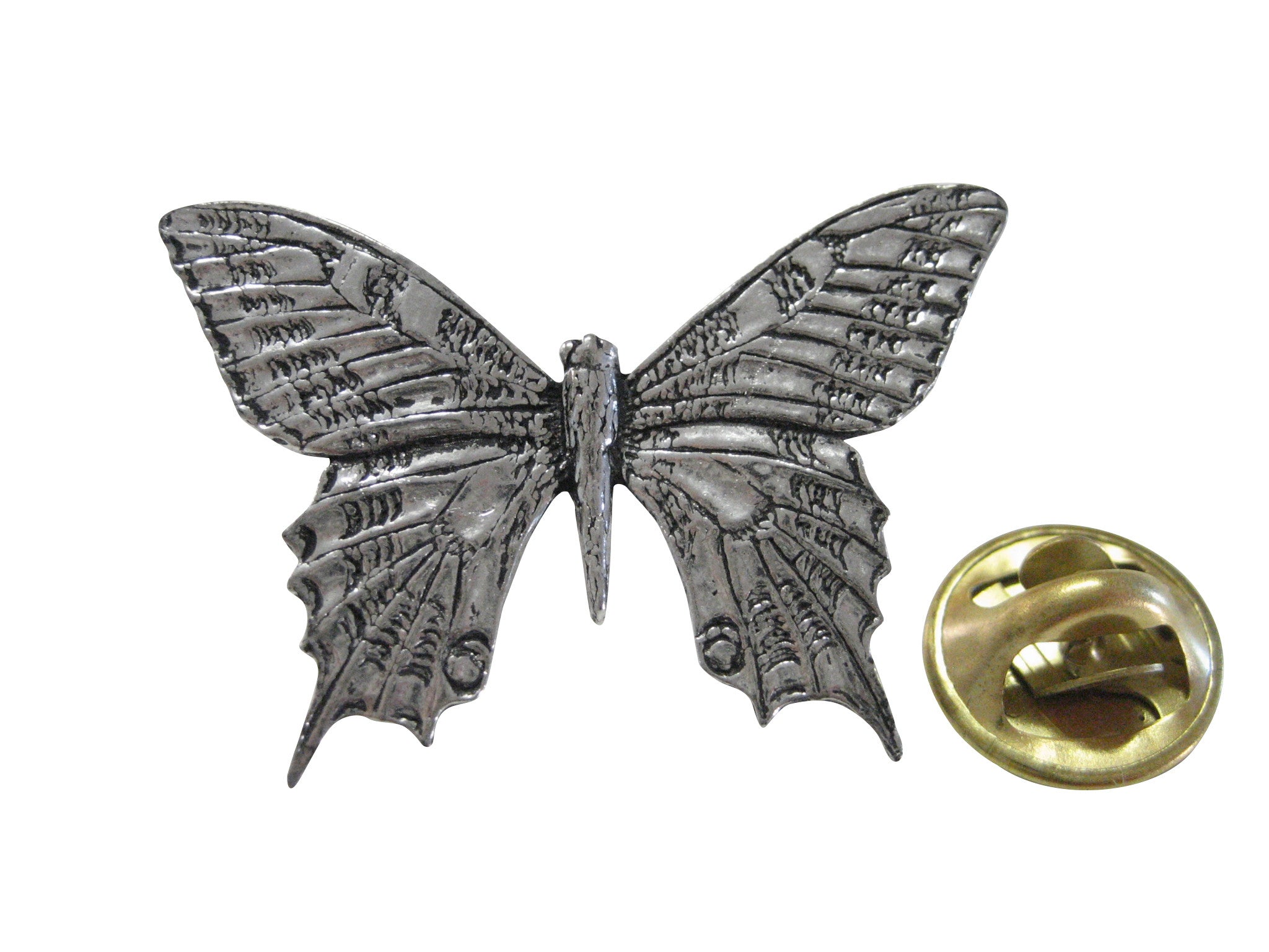 Large Butterfly Lapel Pin