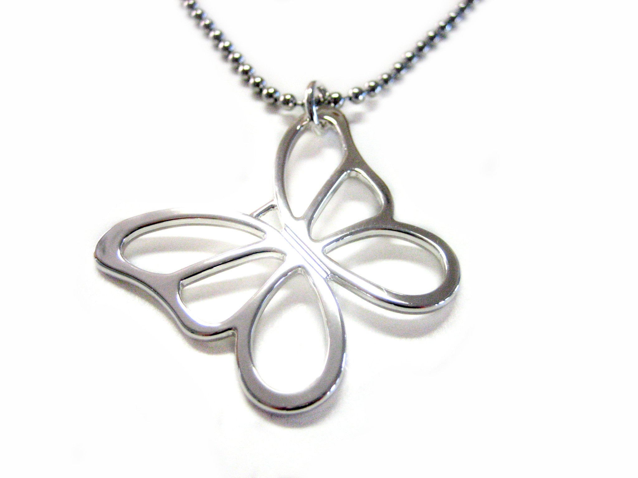 Butterfly Cut Out Necklace