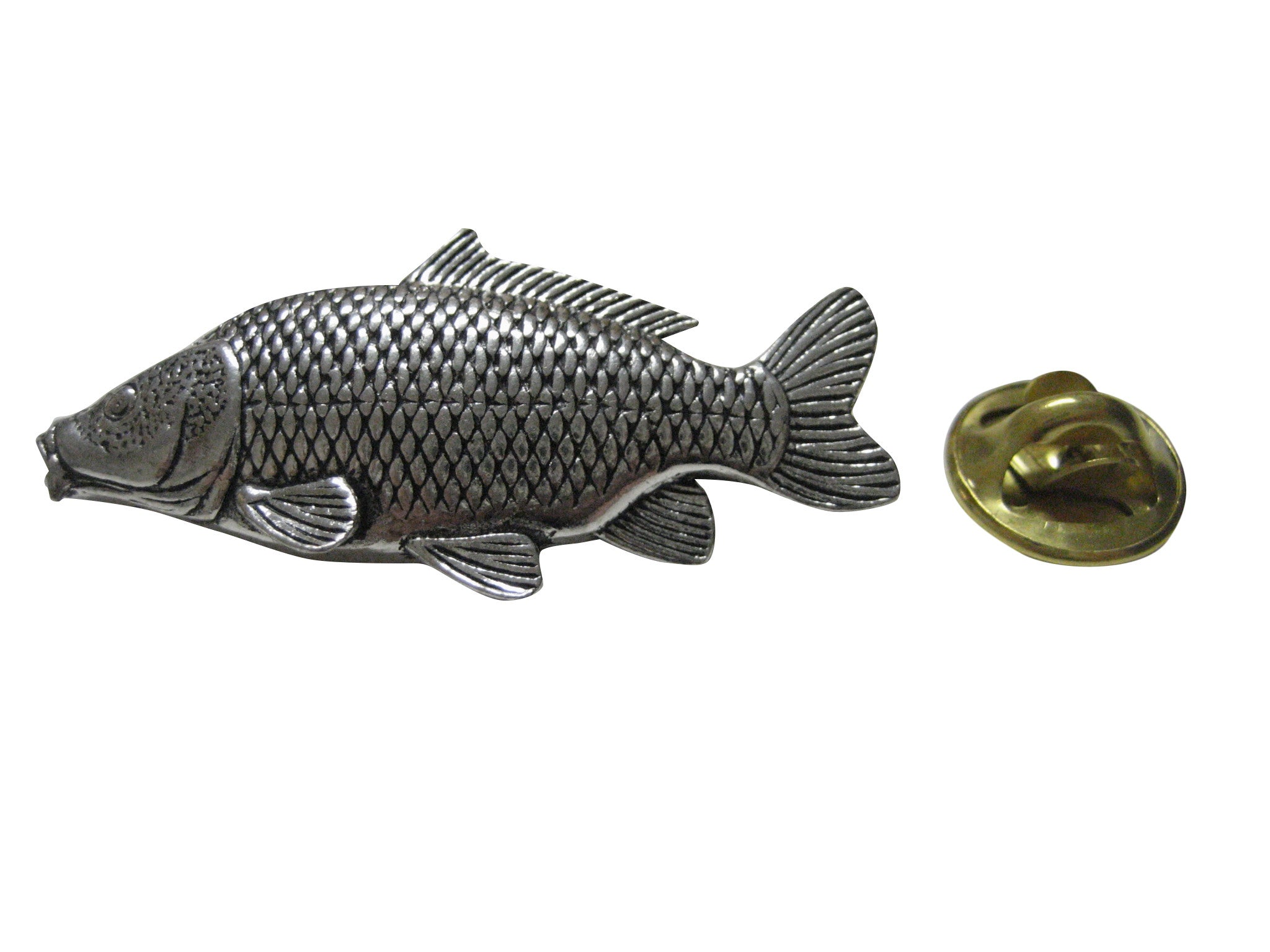 Carp Fish Lapel Pin