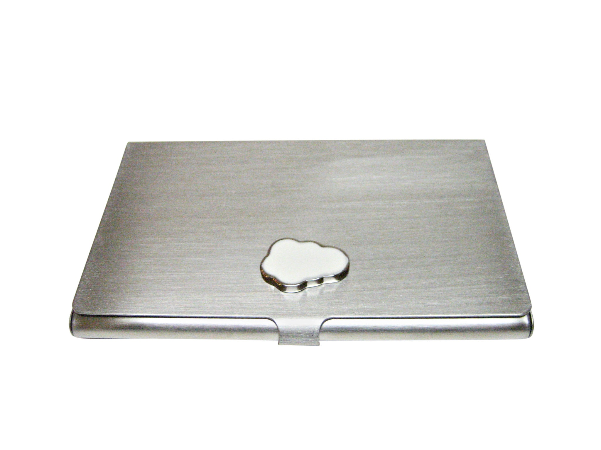 Cloud Matte Business Card Holder