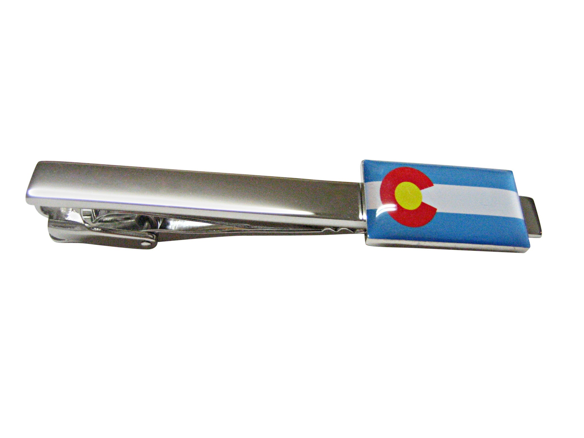 Colorado State Flag Square Tie Clip