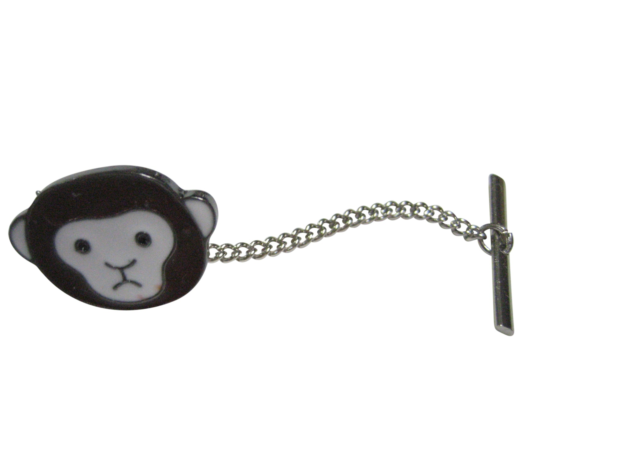 Confused Monkey Tie Tack