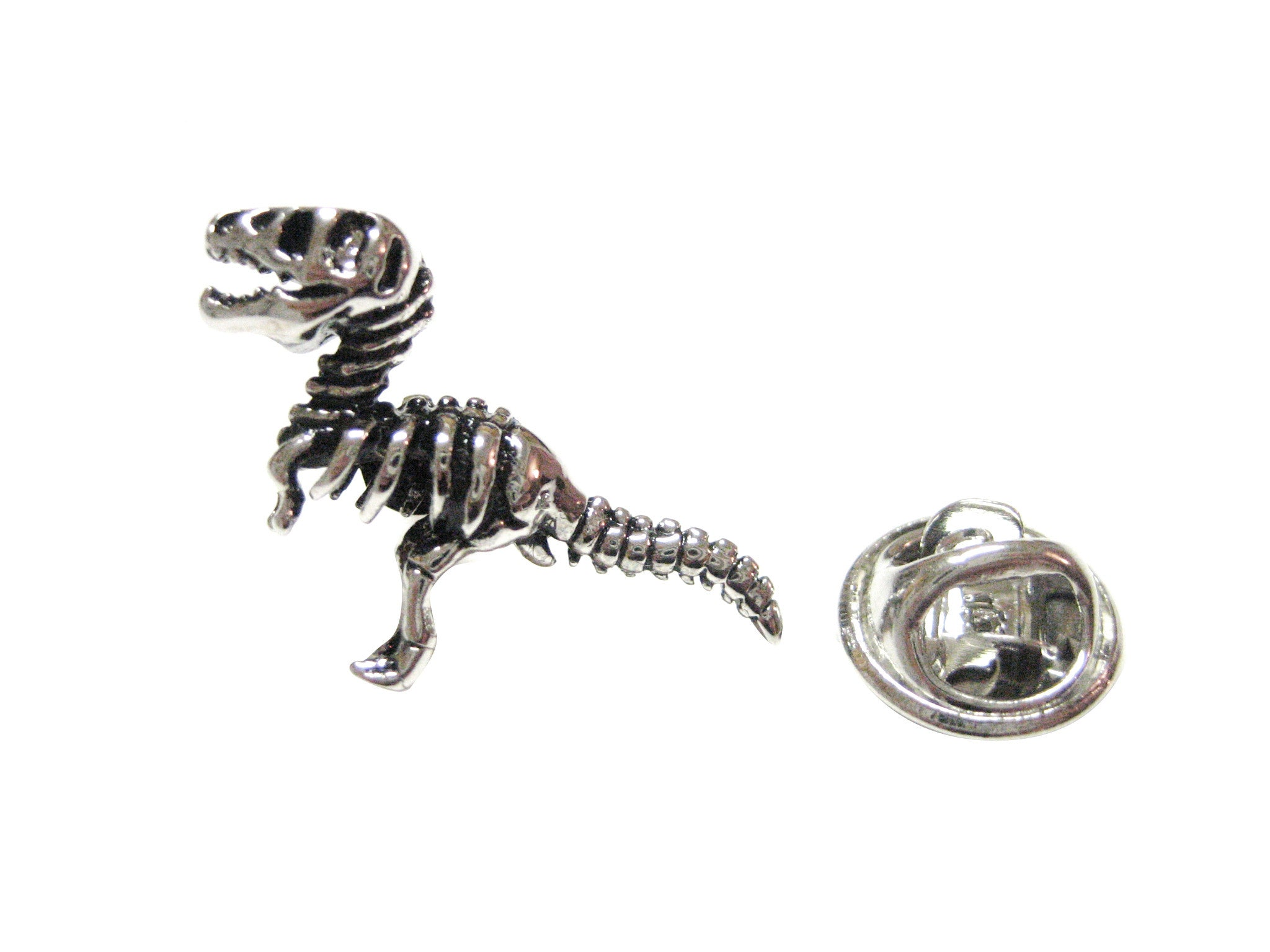 Dinosaur Fossil Skeleton Lapel Pin