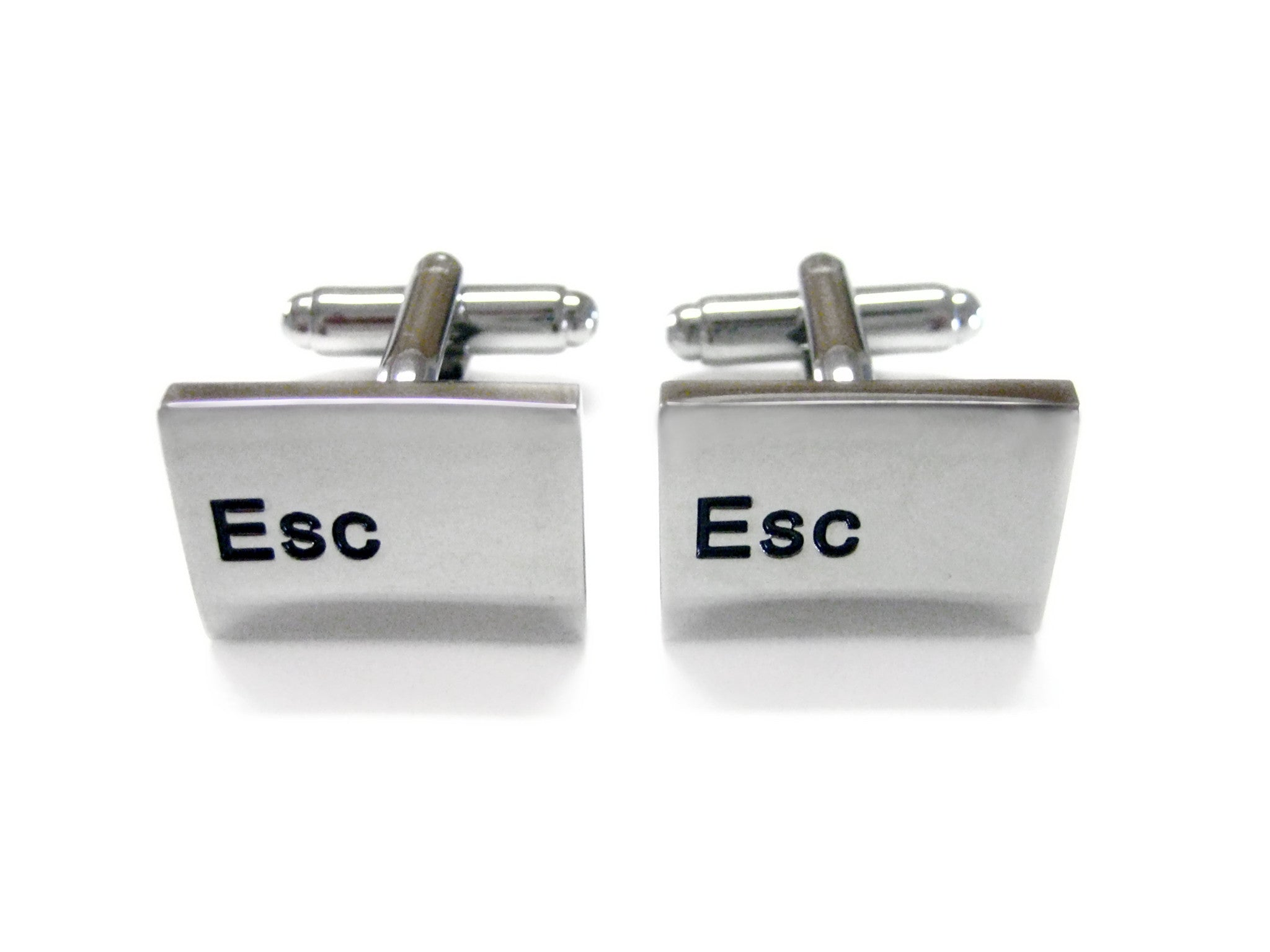Esc Key Keyboard Cufflinks