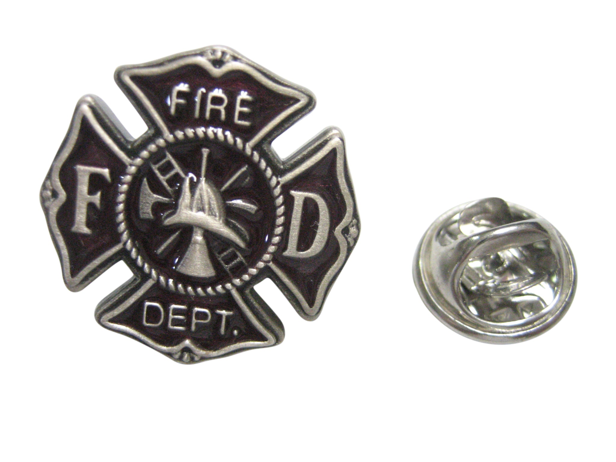 Fire Fighter Emblem Lapel Pin