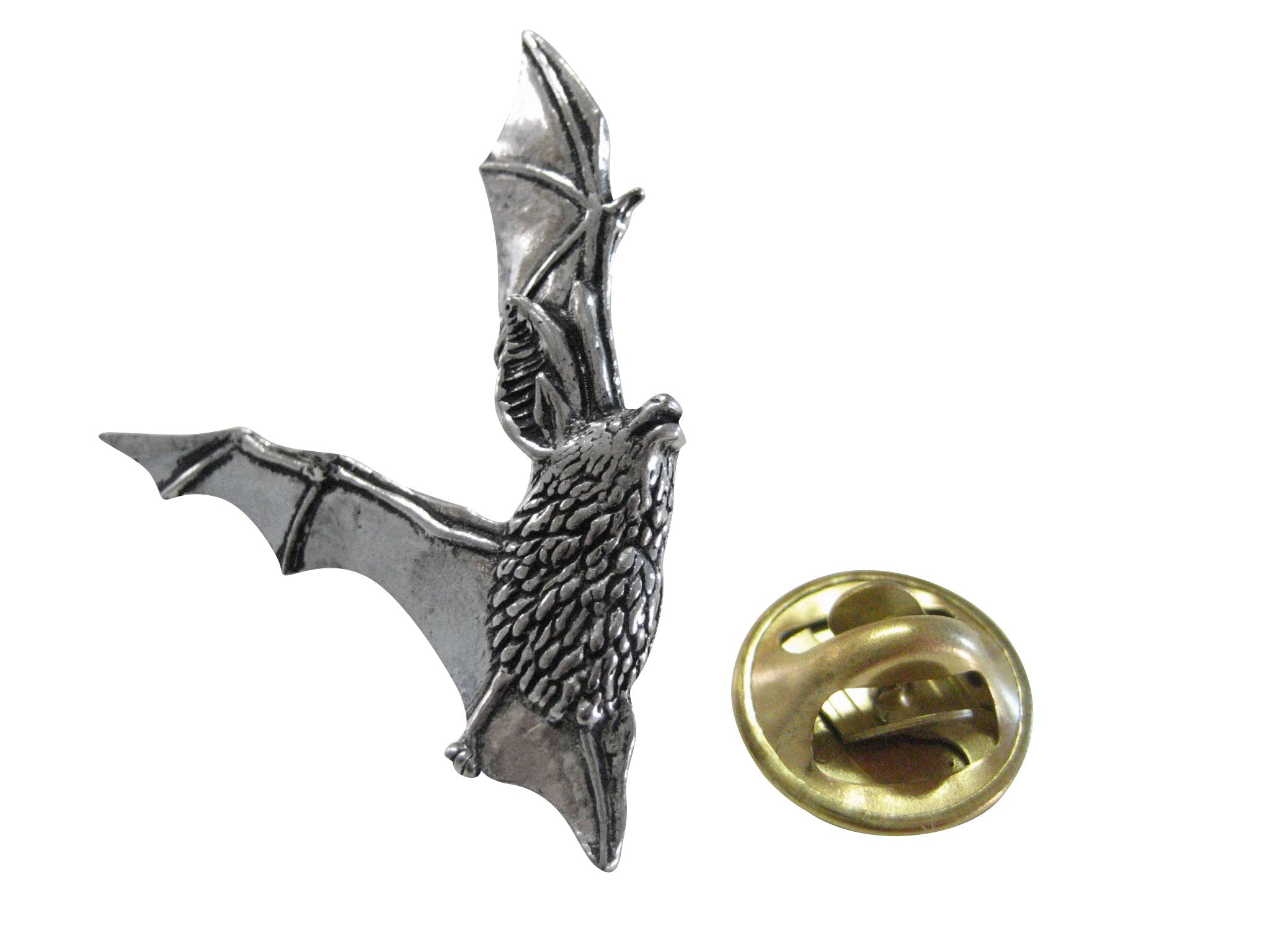 Flying Bat Lapel Pin