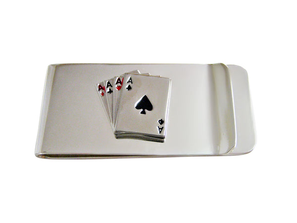 Four Aces Money Clip