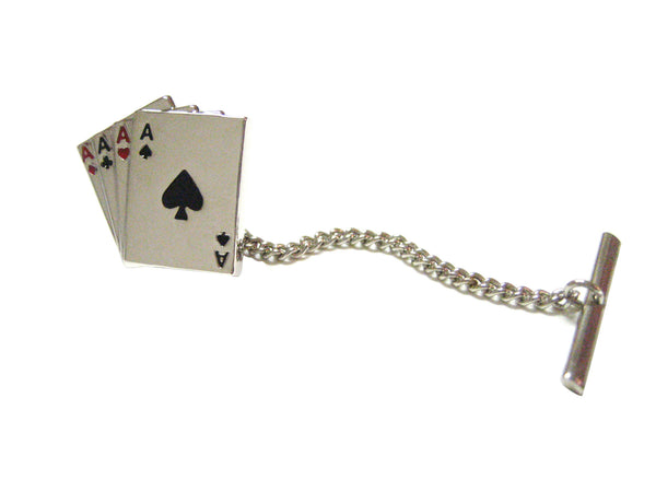 Four Aces Poker Tie Tack