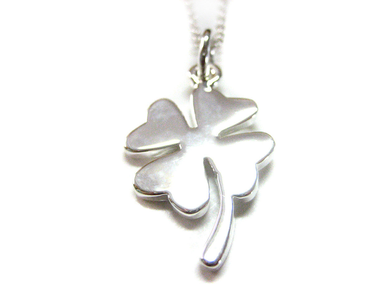 Four Leaf Clover Pendant Necklace