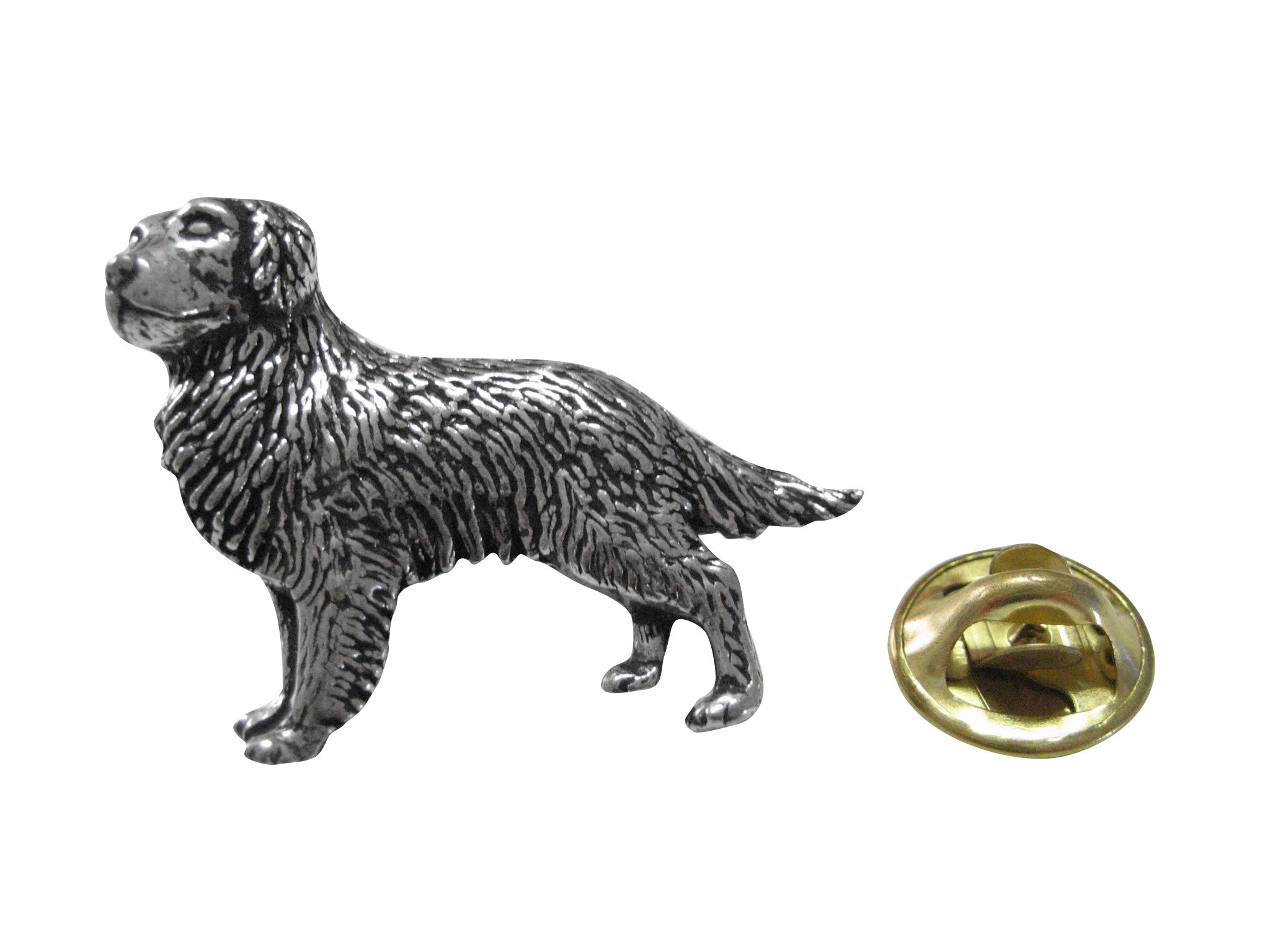 Golden Retriever Dog Lapel Pin