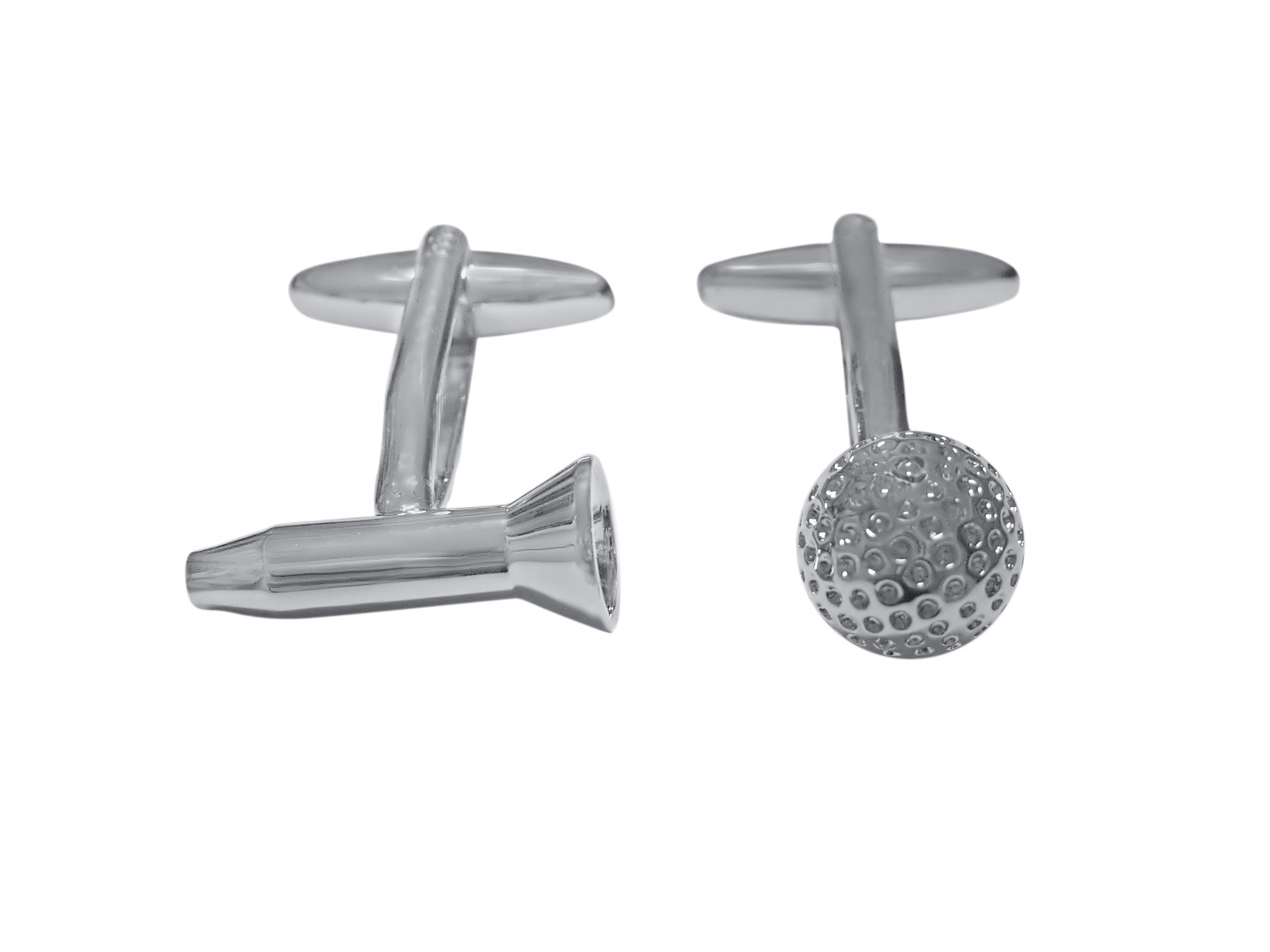Golf Tee and Golf Ball Cufflinks