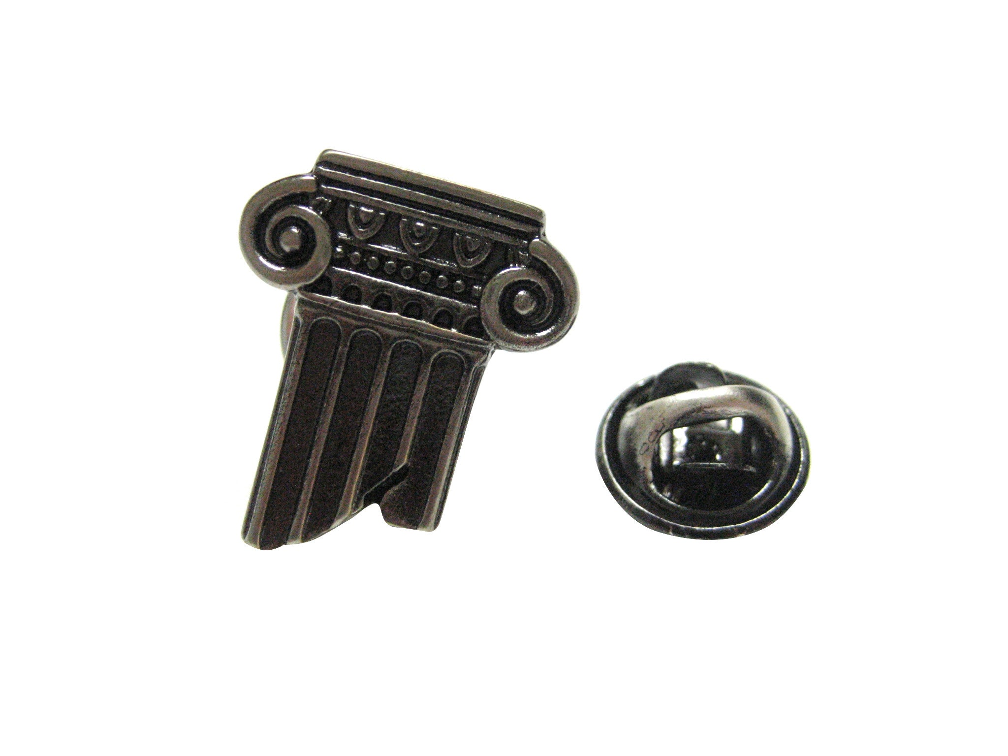 Greek Historical Column Lapel Pin