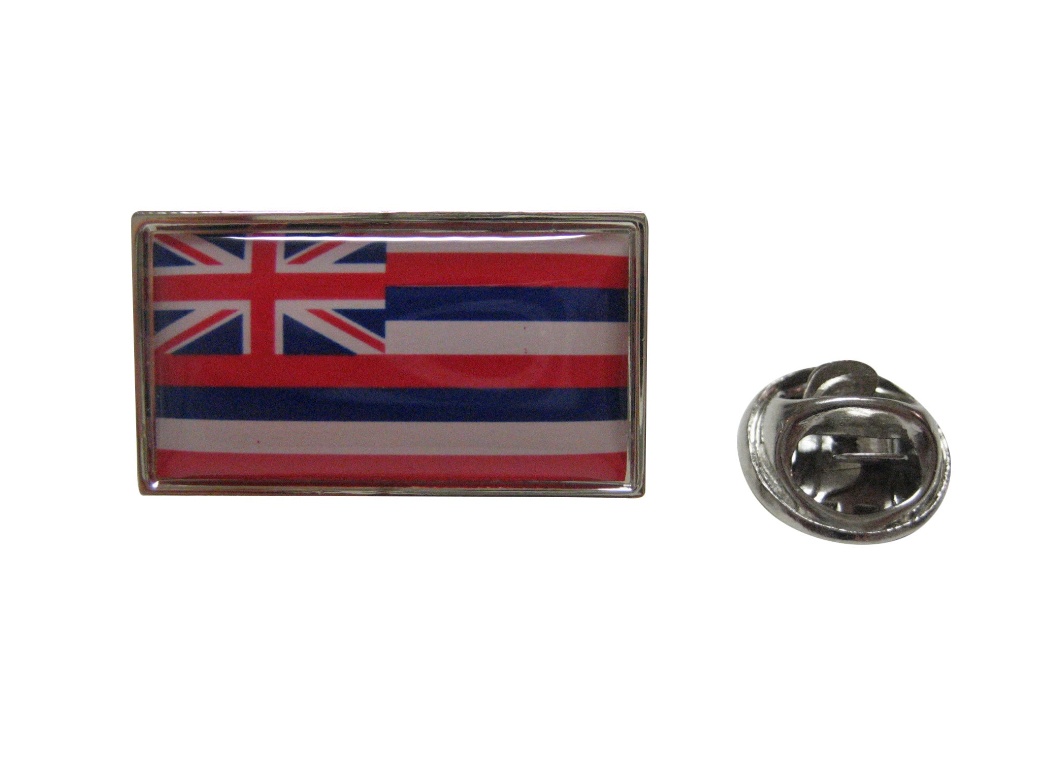 Hawaii Flag Design Lapel Pin