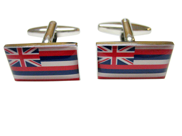 Hawaii State Flag Cufflinks