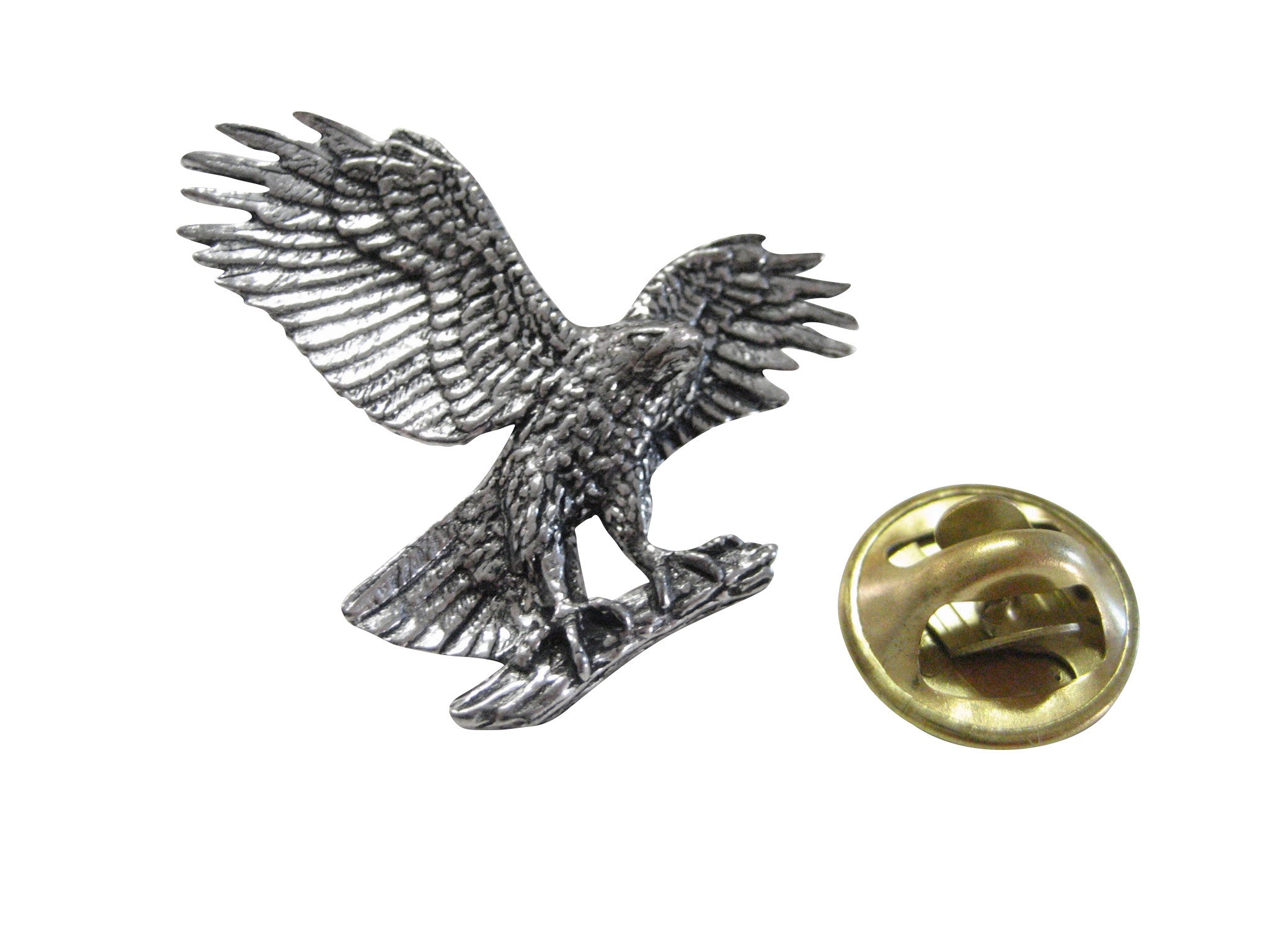 Hawk Eagle Falcon Bird Lapel Pin