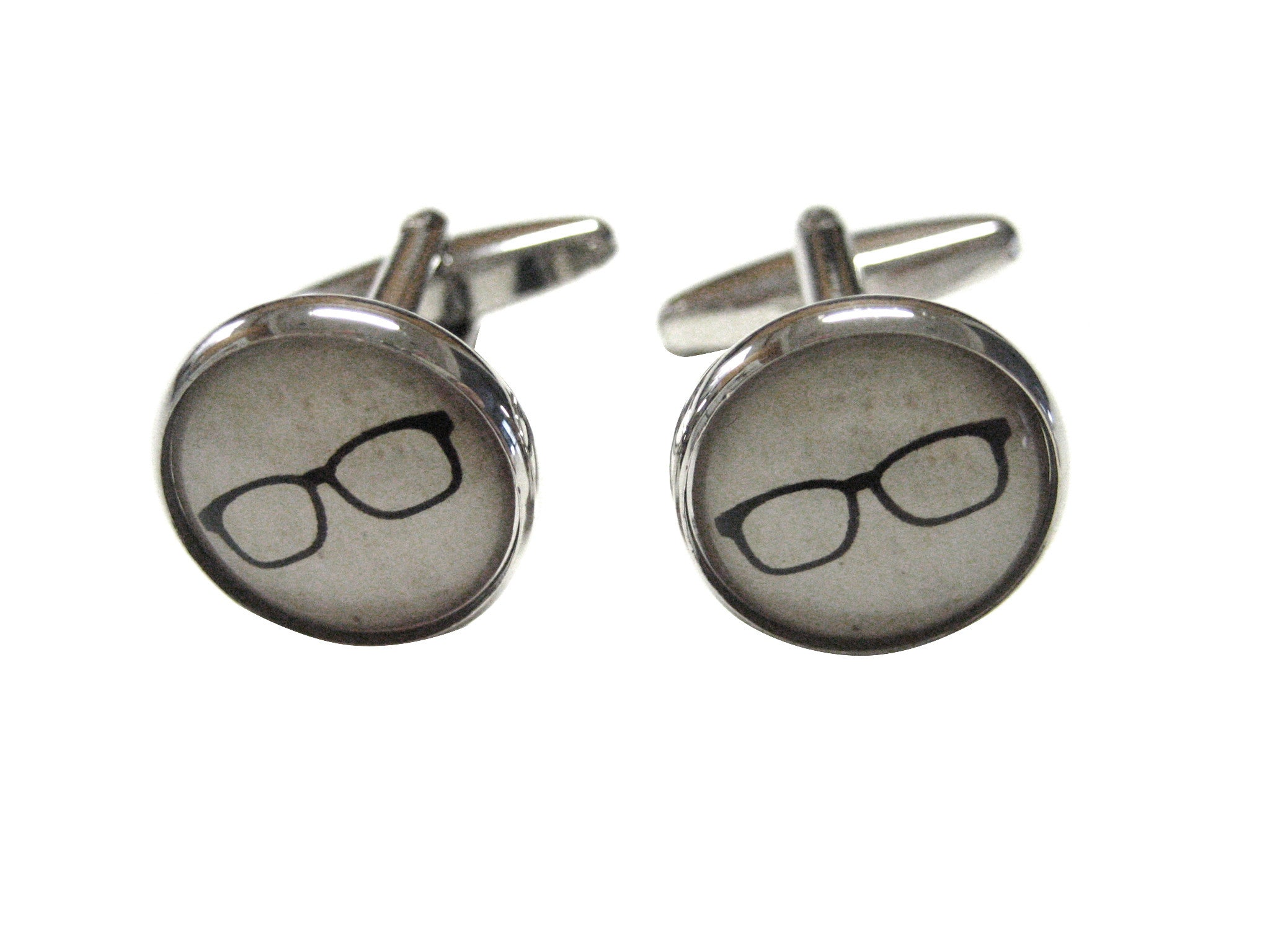 Hipster Glasses Cufflinks