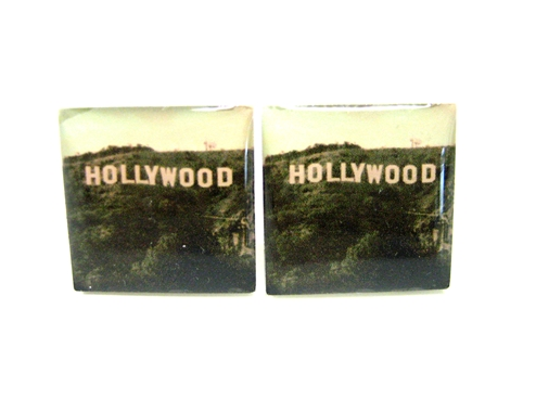Hollywood Sign Cufflinks