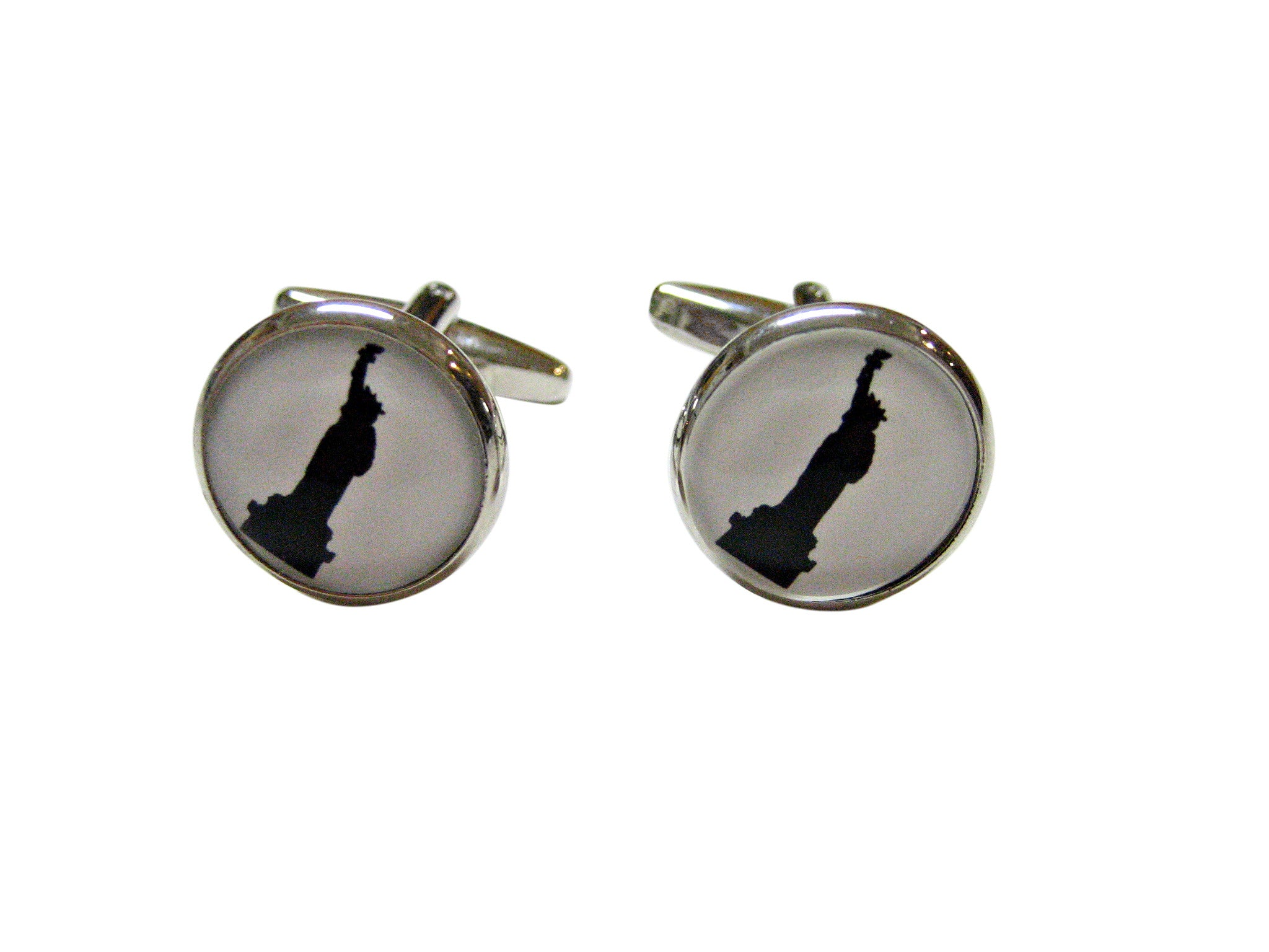 Iconic Statue of Liberty Cufflinks