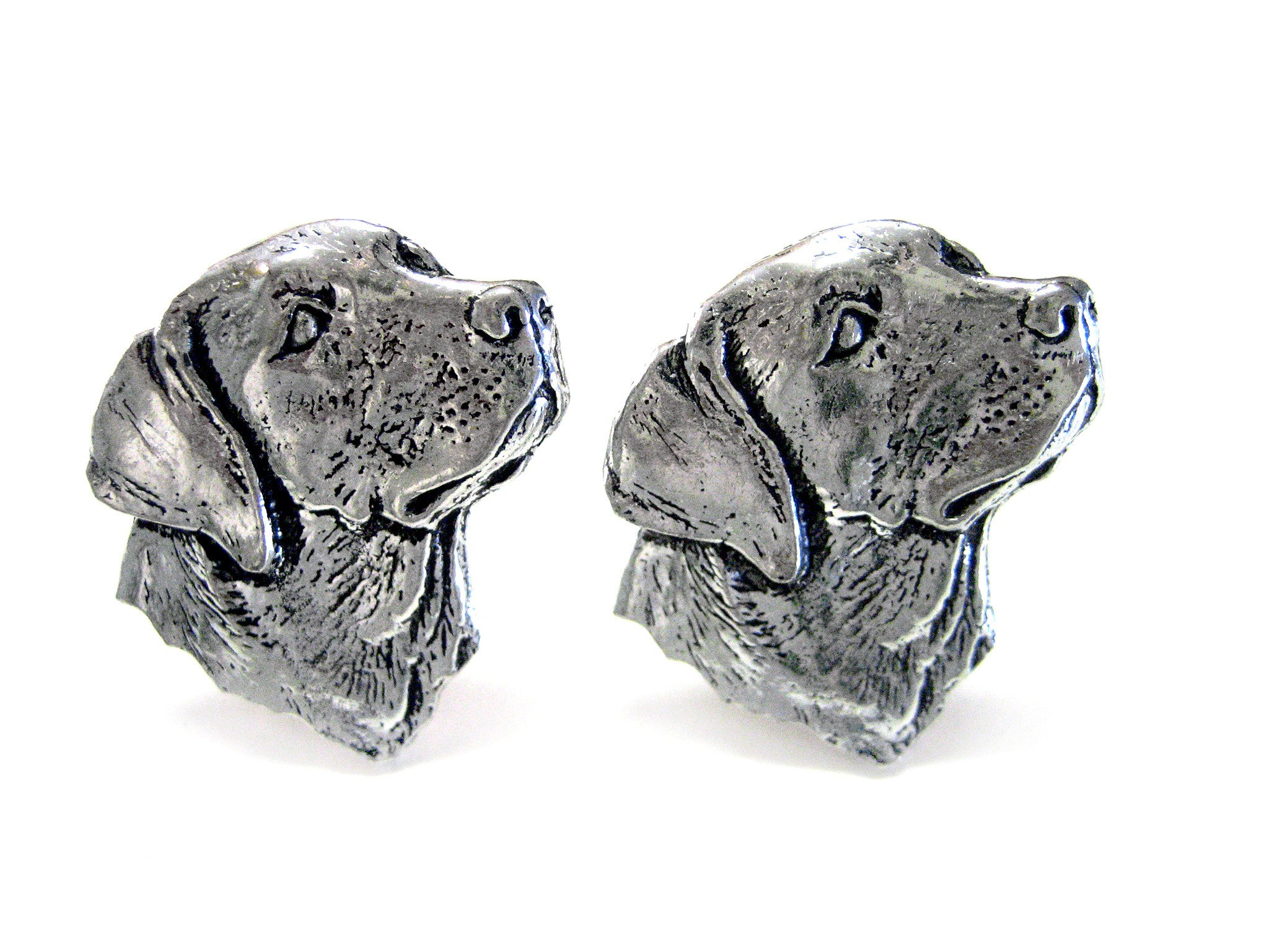 Labrador Dog Head Cufflinks