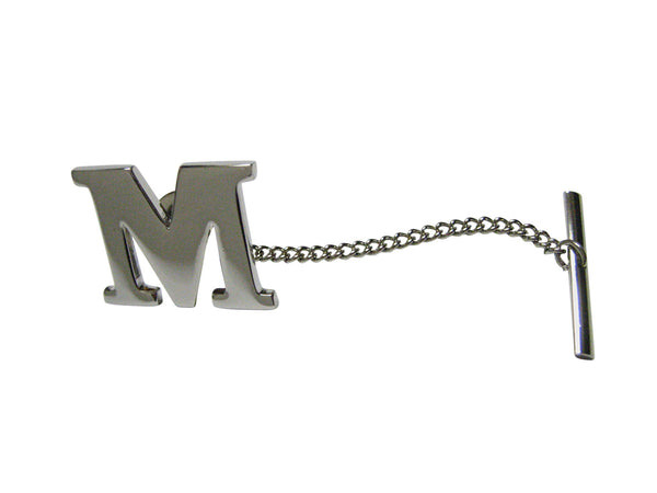 Letter M Tie Tack