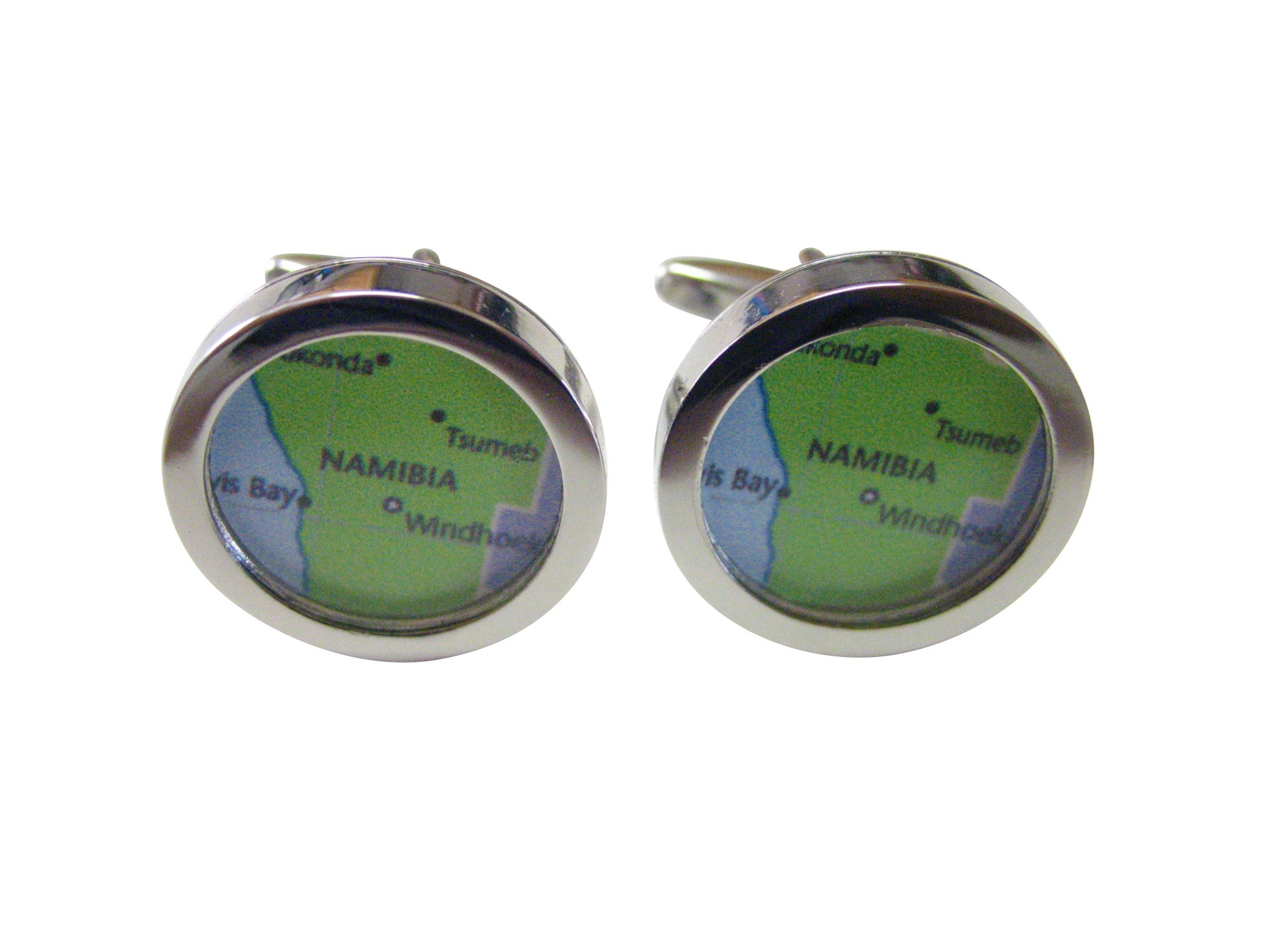 Namibia Map Cufflinks