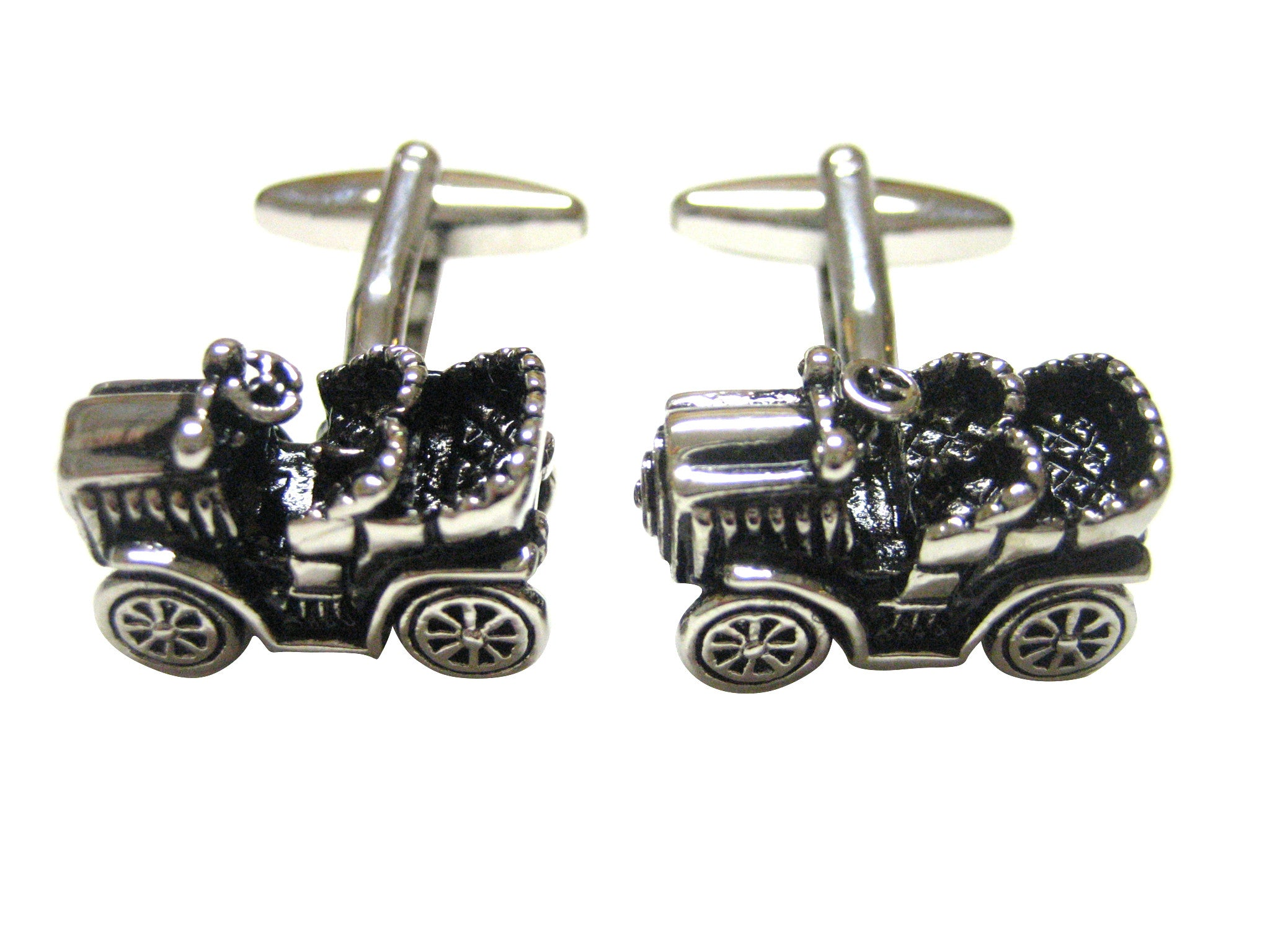 Old Farm Tractor Cufflinks