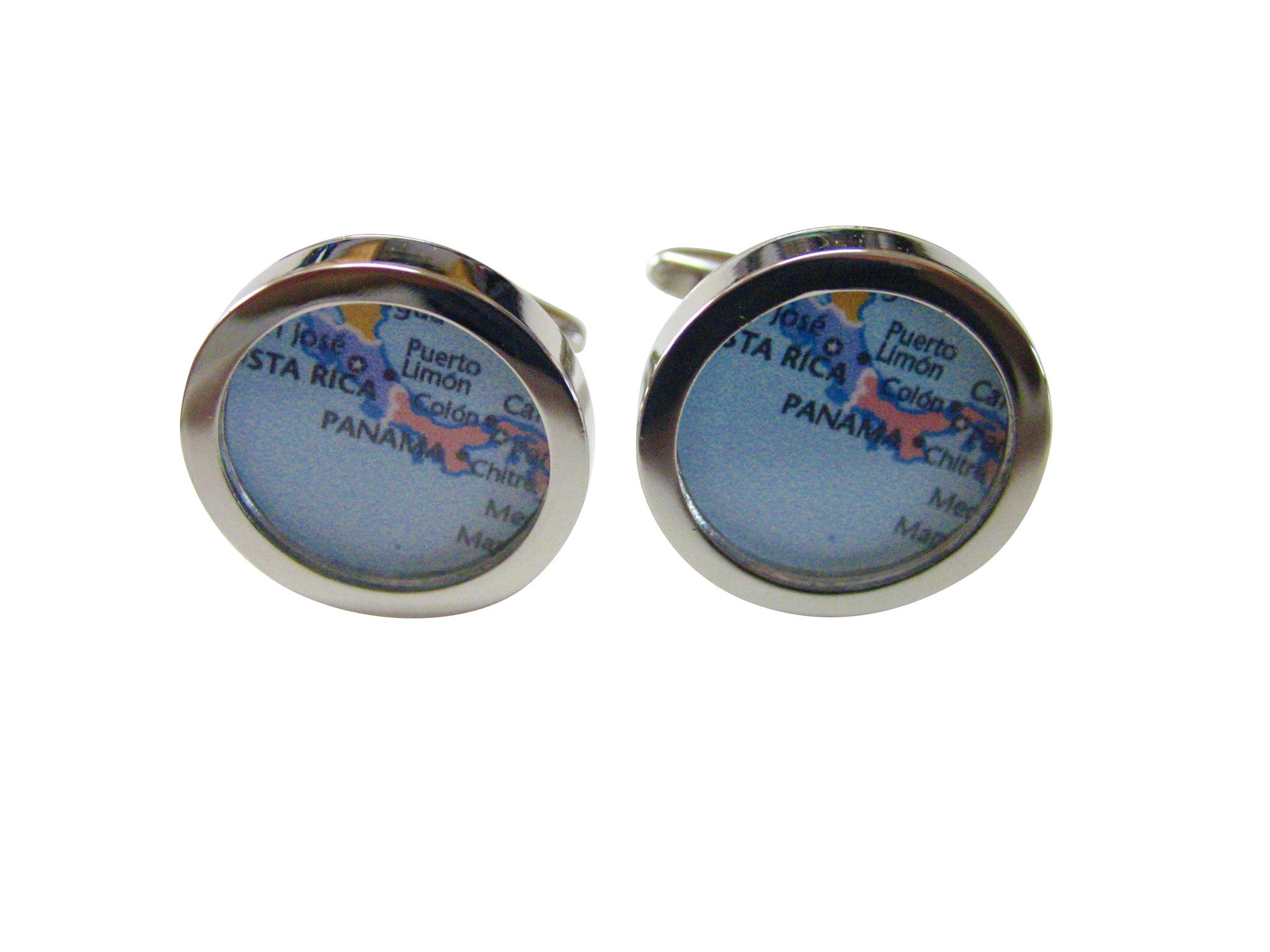 Panama Map Cufflinks