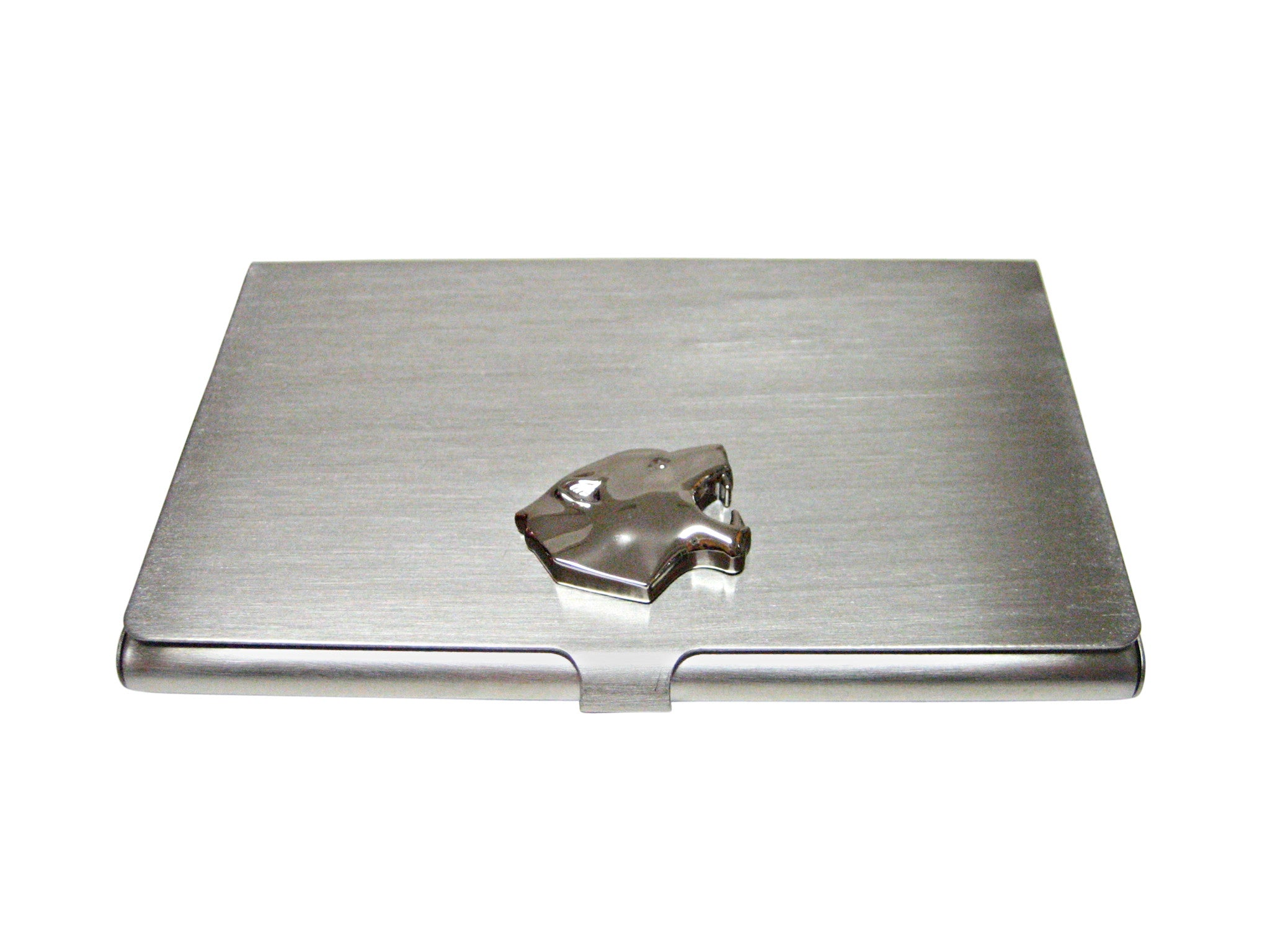 Puma Wild Cat Head Business Card Holder