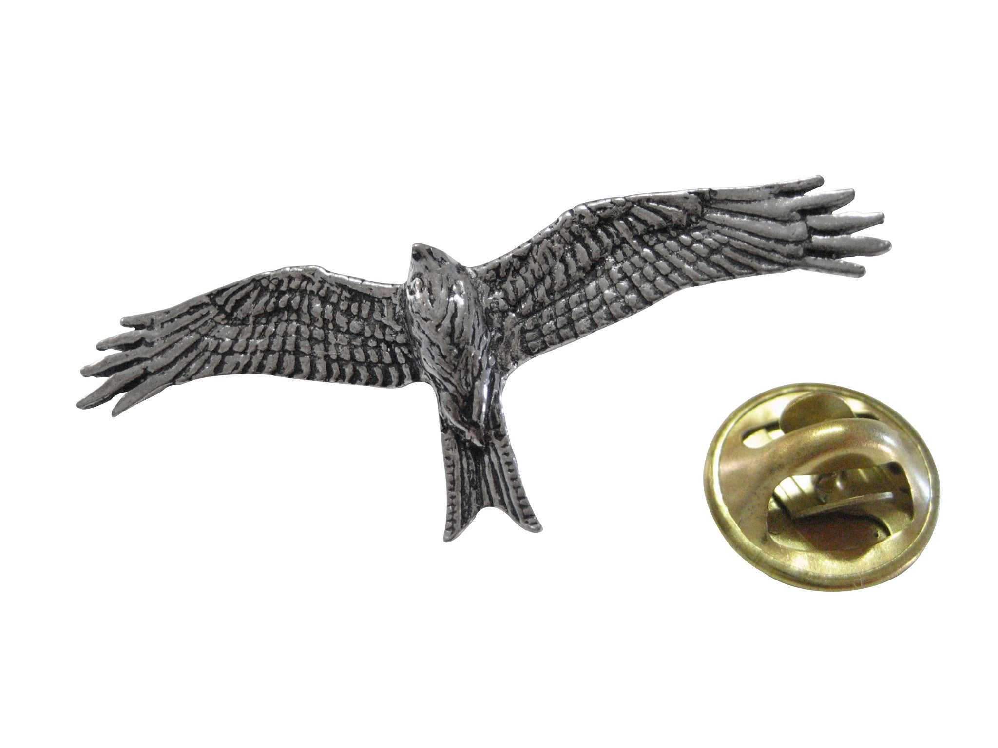 Red Kite Bird Lapel Pin