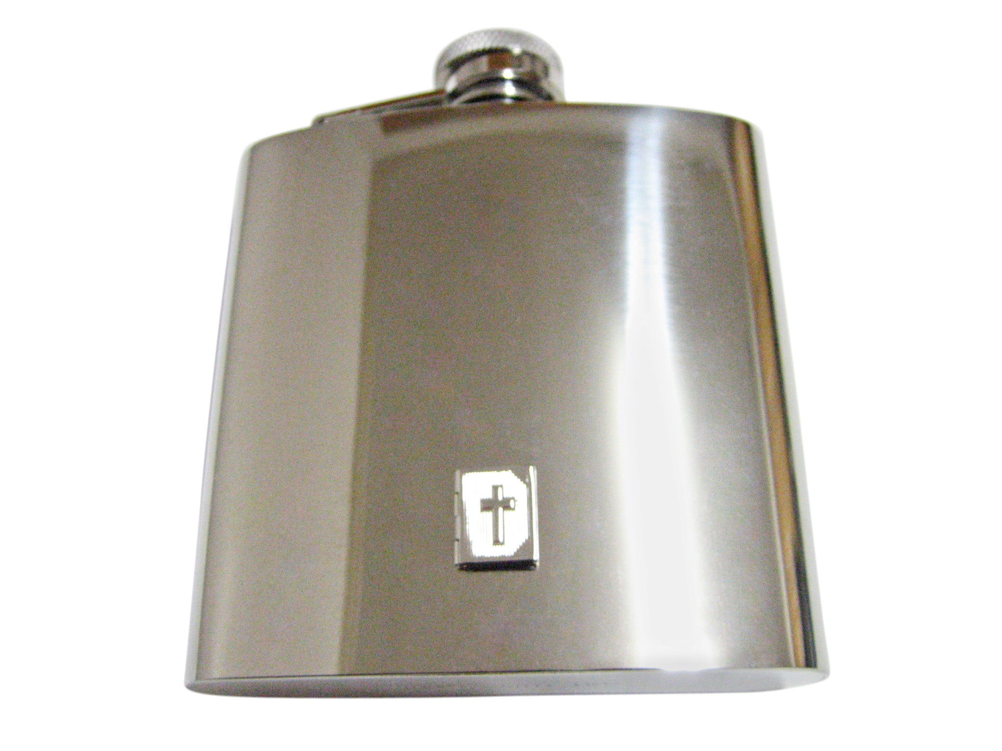 Religious Bible 6 Oz. Stainless Steel Flask