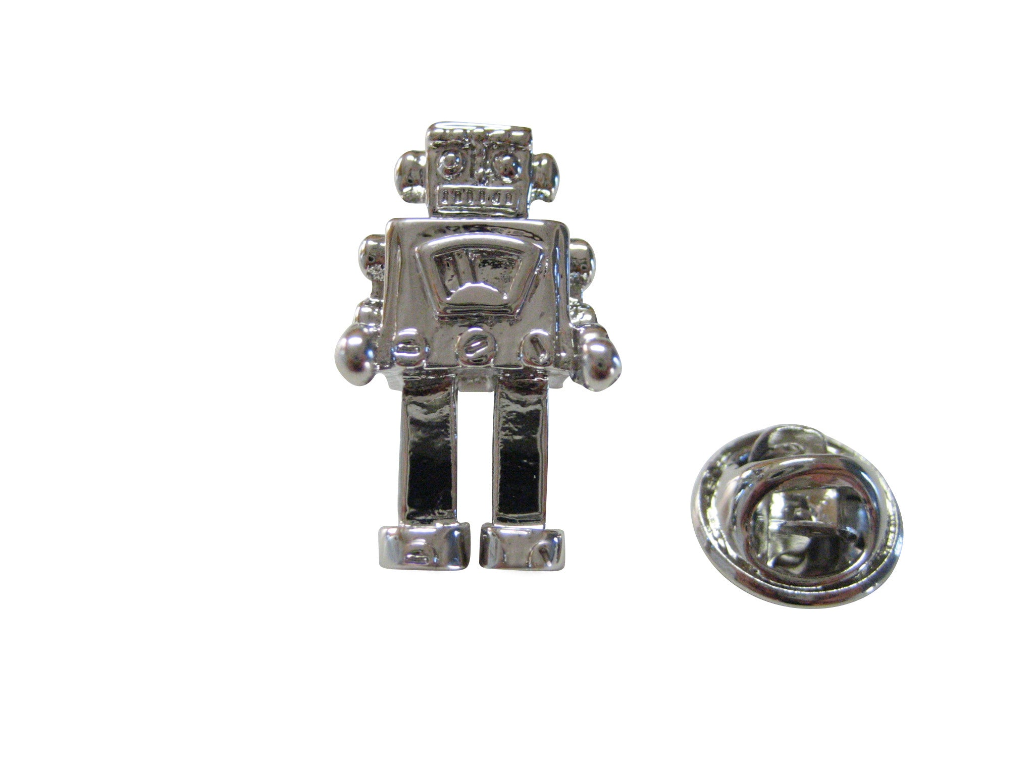 Retro Robot Lapel Pin