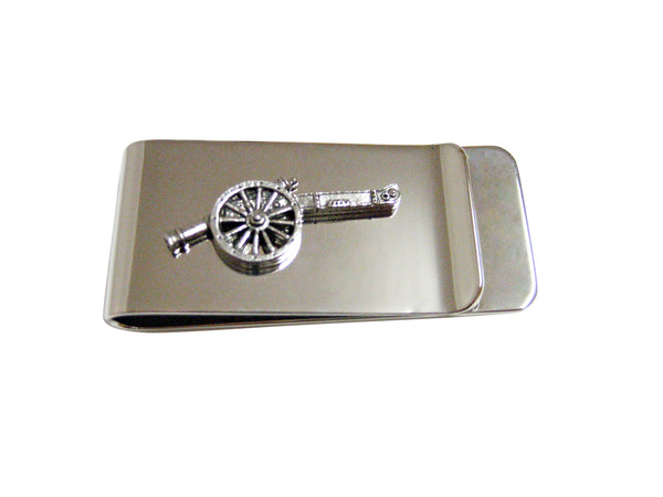 Retro War Cannon Money Clip