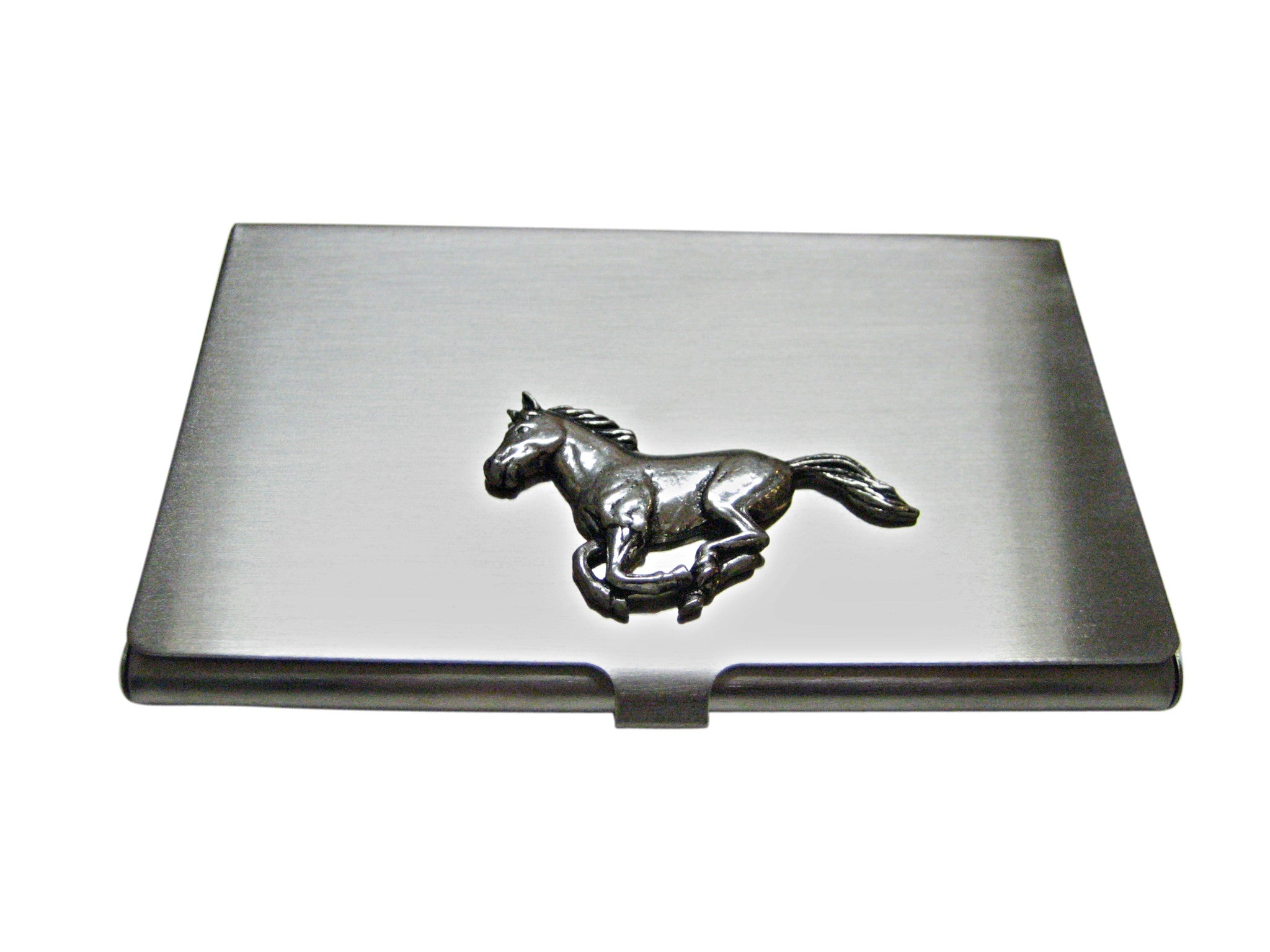Running Horse Business Card Holder