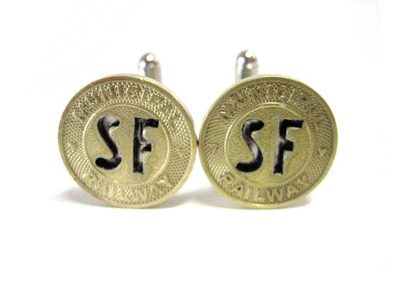 San Francisco Transit Cufflinks