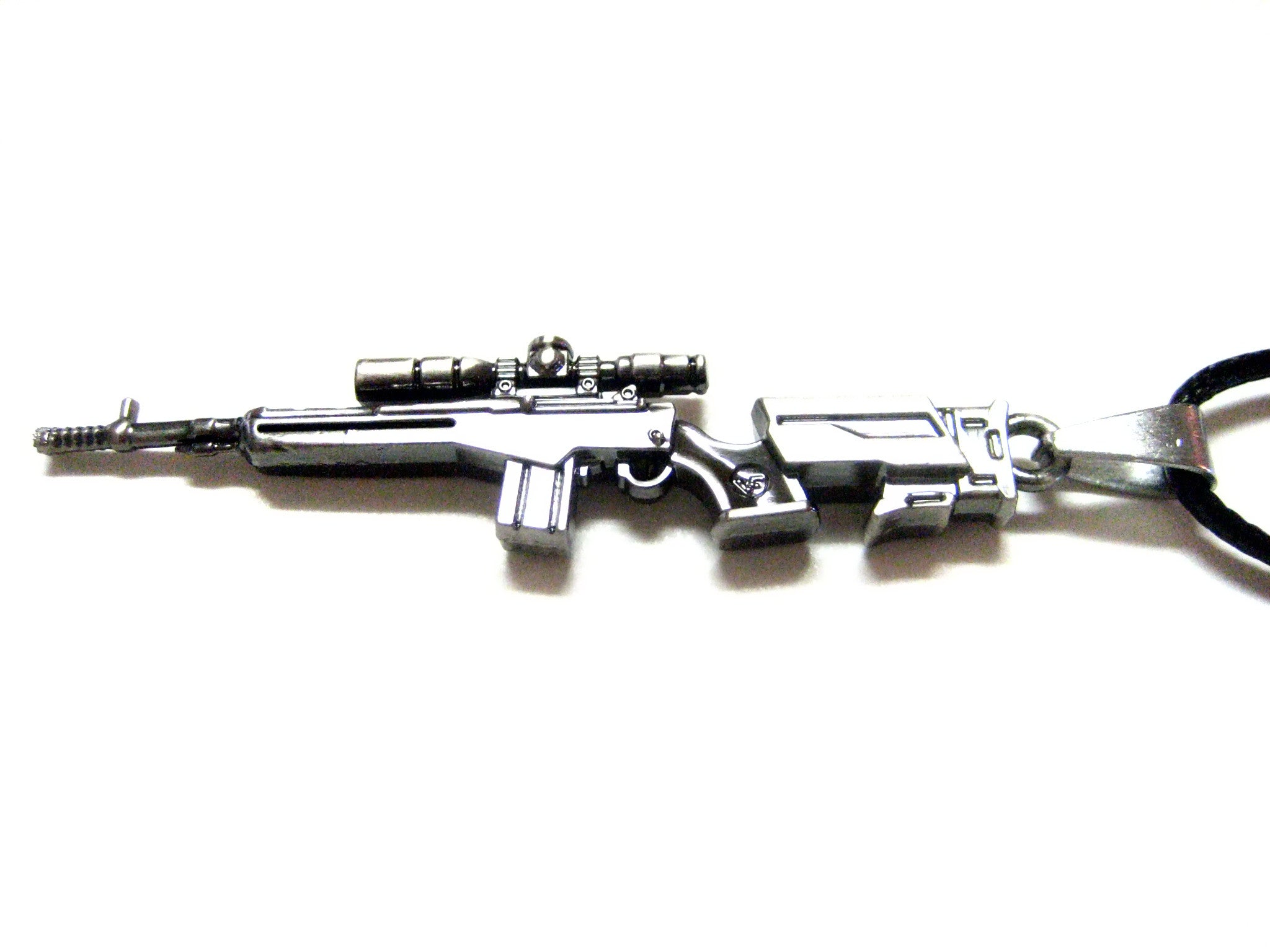 Scope Rifle V1 Pendant Necklace