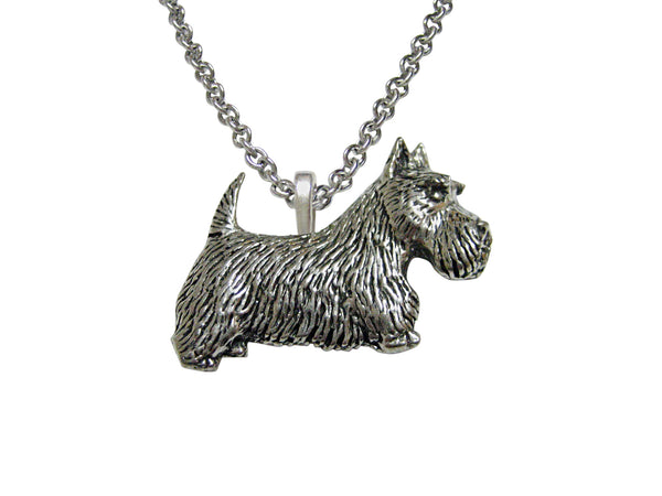 Scottish Terrier Dog Pendant Necklace